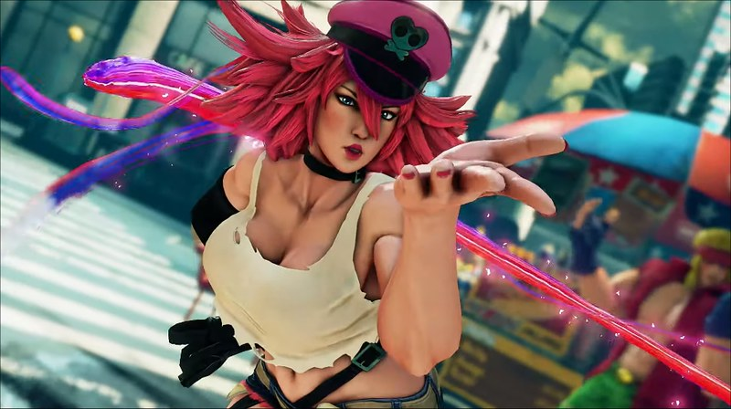 Street Fighter V - Poison