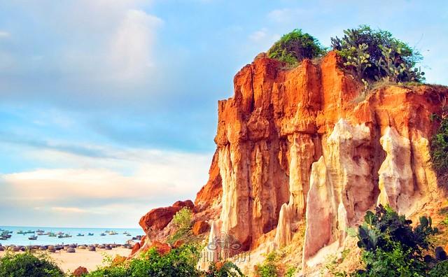 Phượt Cổ Thạch - Bãi biển rêu xanh ngoài hành tinh 69