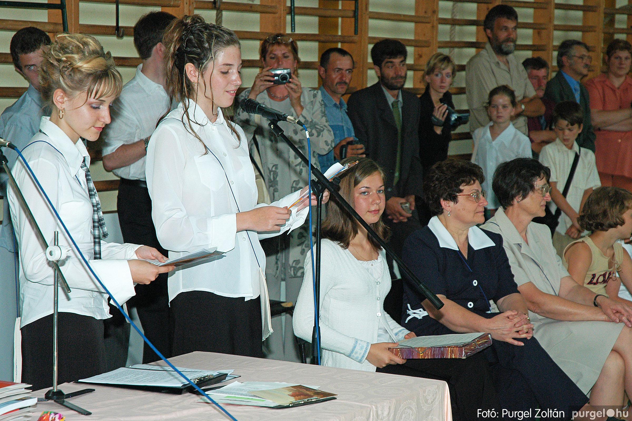 2004.06.12. 055 Forray Máté Általános Iskola ballagás 2004. - Fotó:PURGEL ZOLTÁN© DSC_0119q.jpg