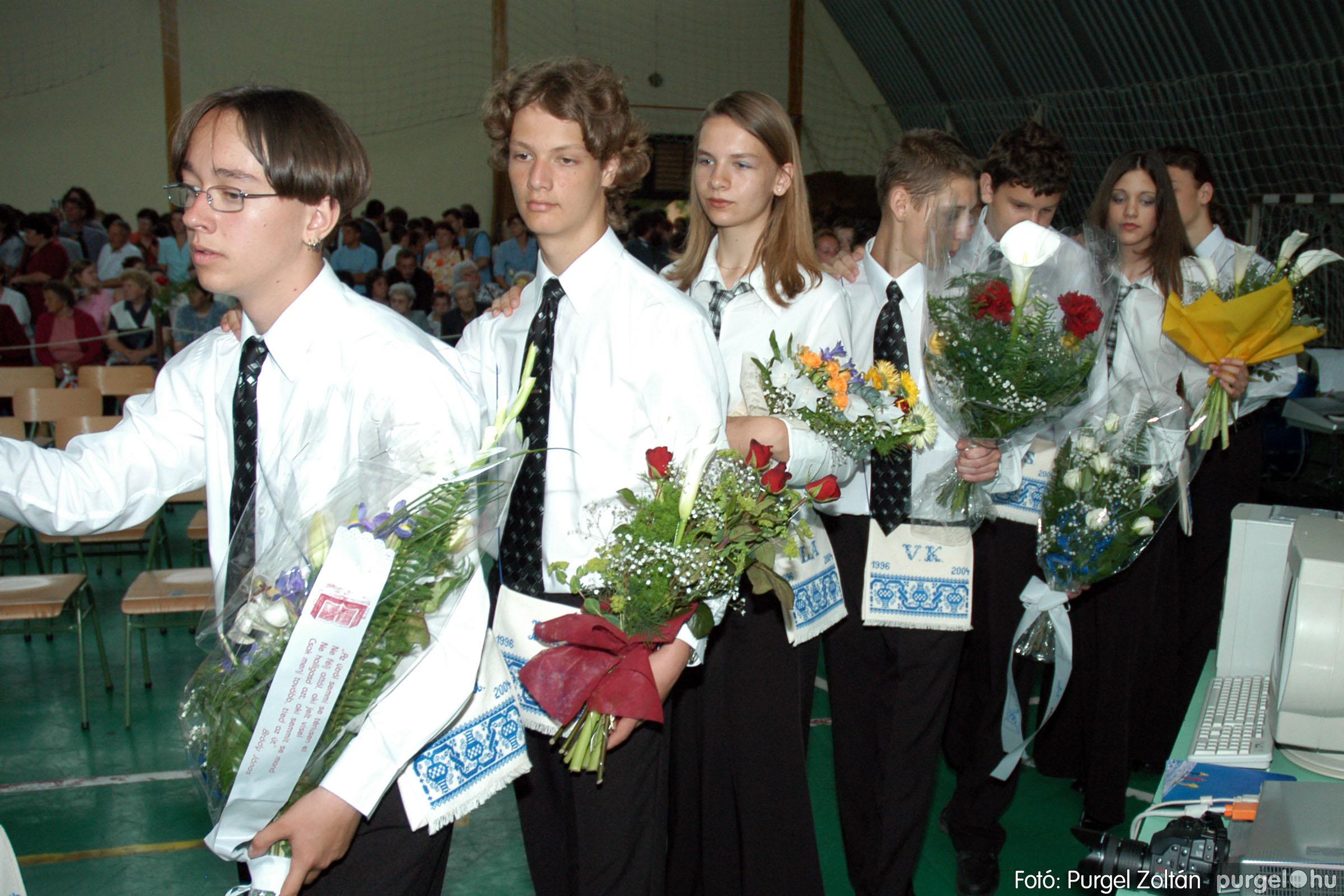 2004.06.12. 039 Forray Máté Általános Iskola ballagás 2004. - Fotó:PURGEL ZOLTÁN© DSC_0095q.jpg