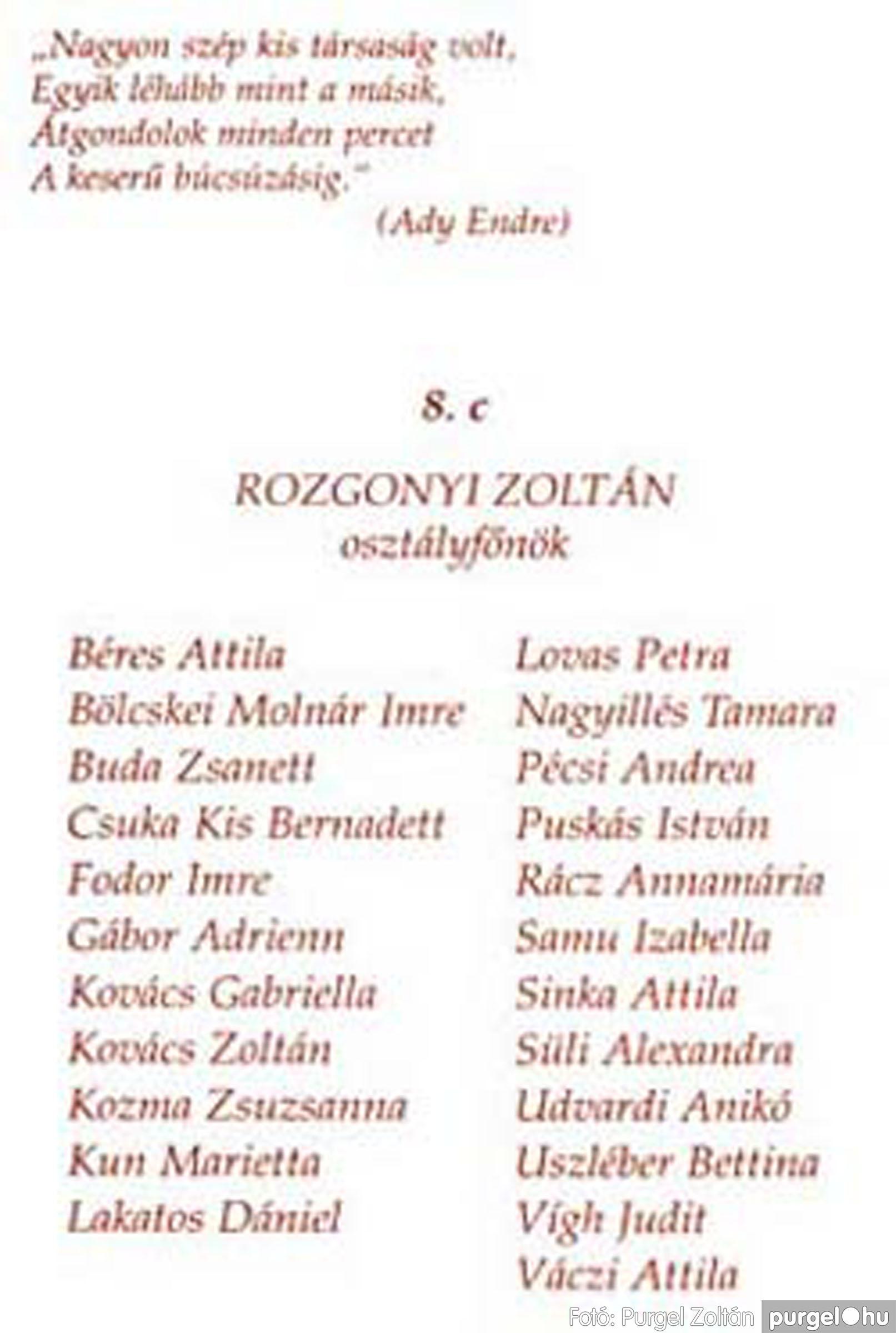 2004.06.12. 000 Forray Máté Általános Iskola ballagási meghívó 2004. - Fotó:PURGEL ZOLTÁN© 001c.jpg