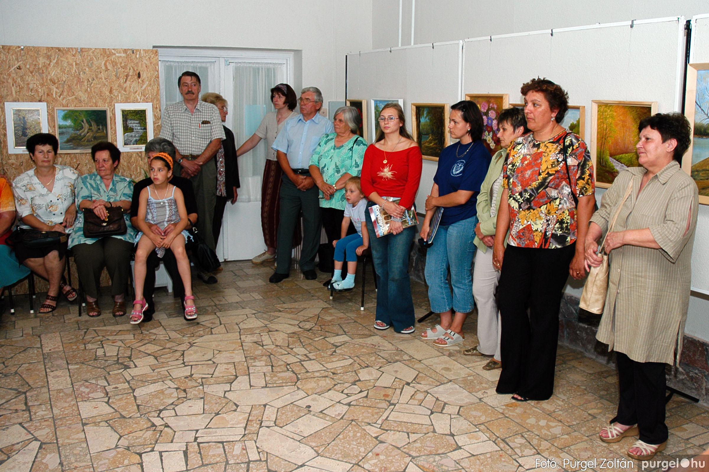 2004.06.21. 004 Dr. Apró Ferencné festő kiállítása - Fotó:PURGEL ZOLTÁN© DSC_0004q.jpg
