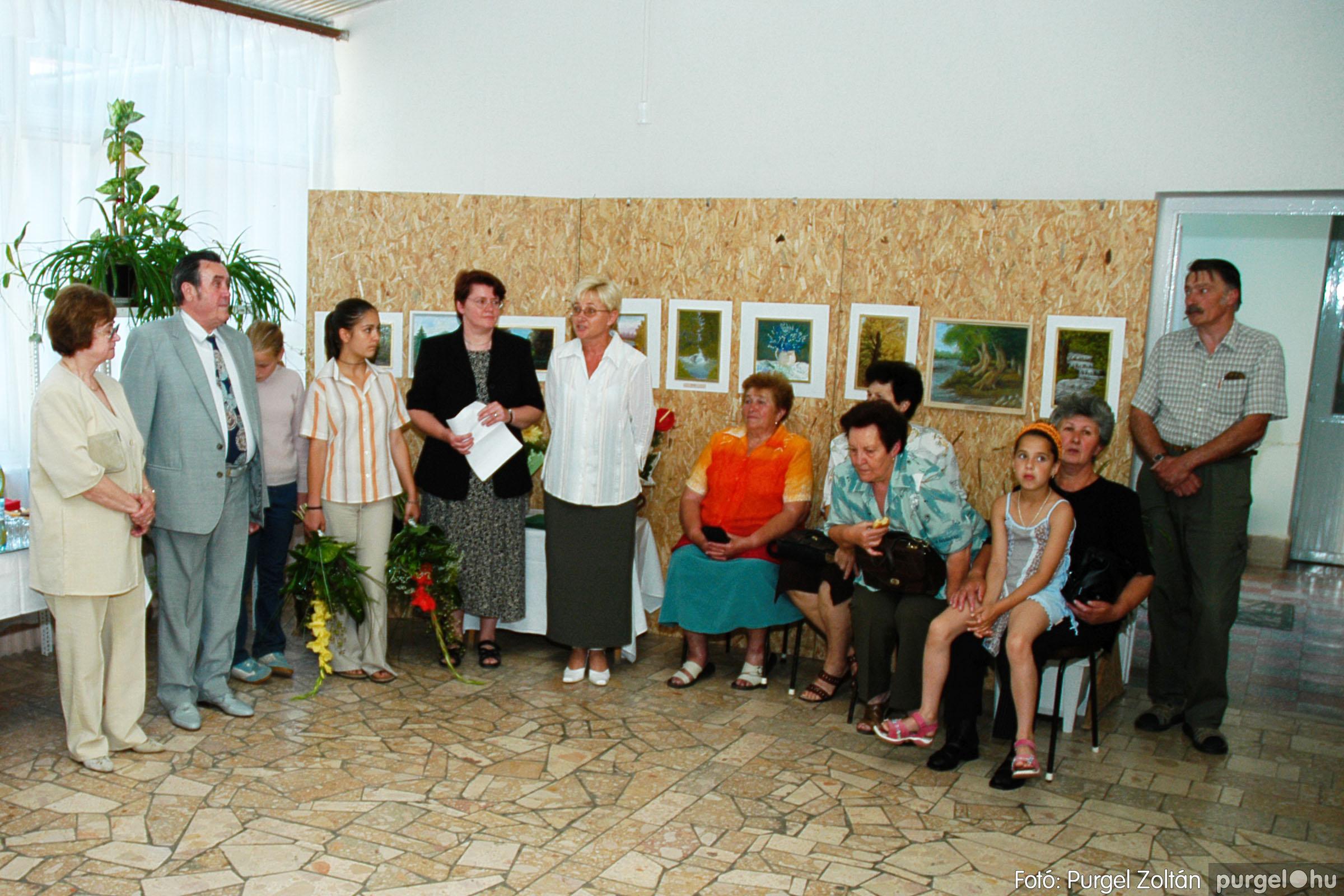 2004.06.21. 001 Dr. Apró Ferencné festő kiállítása - Fotó:PURGEL ZOLTÁN© DSC_0001q.jpg