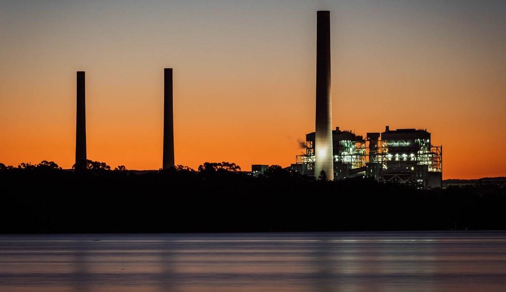 Power plant in Australia