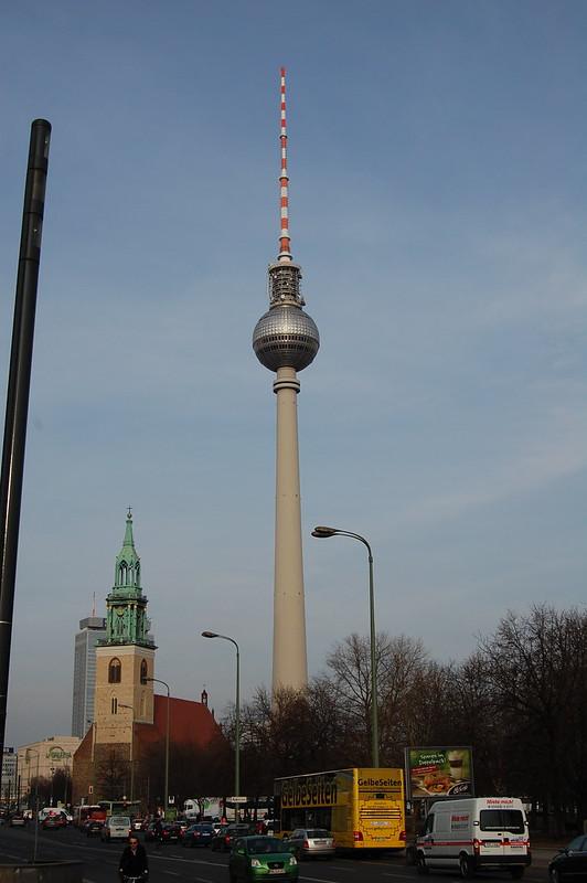 Torre de la televisión en Alexander Platz