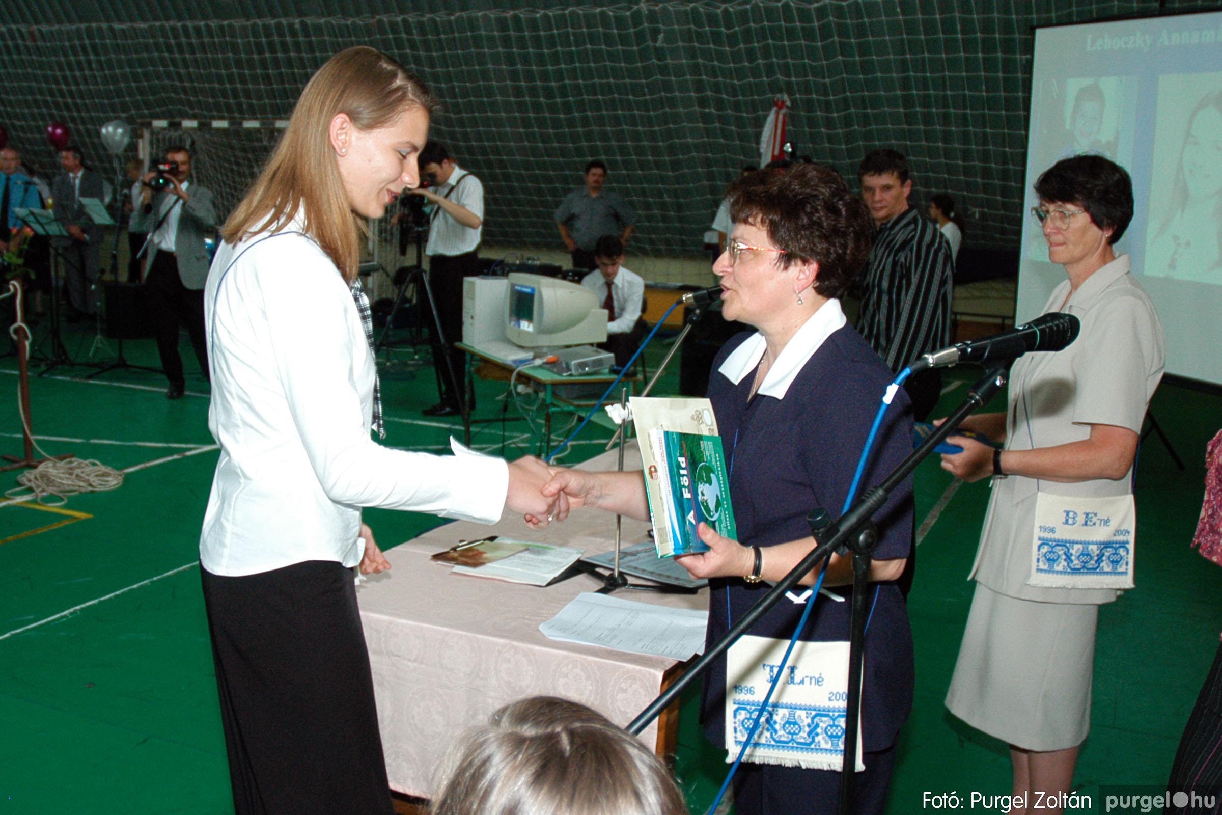 2004.06.12. 071 Forray Máté Általános Iskola ballagás 2004. - Fotó:PURGEL ZOLTÁN© DSC_0140q.jpg
