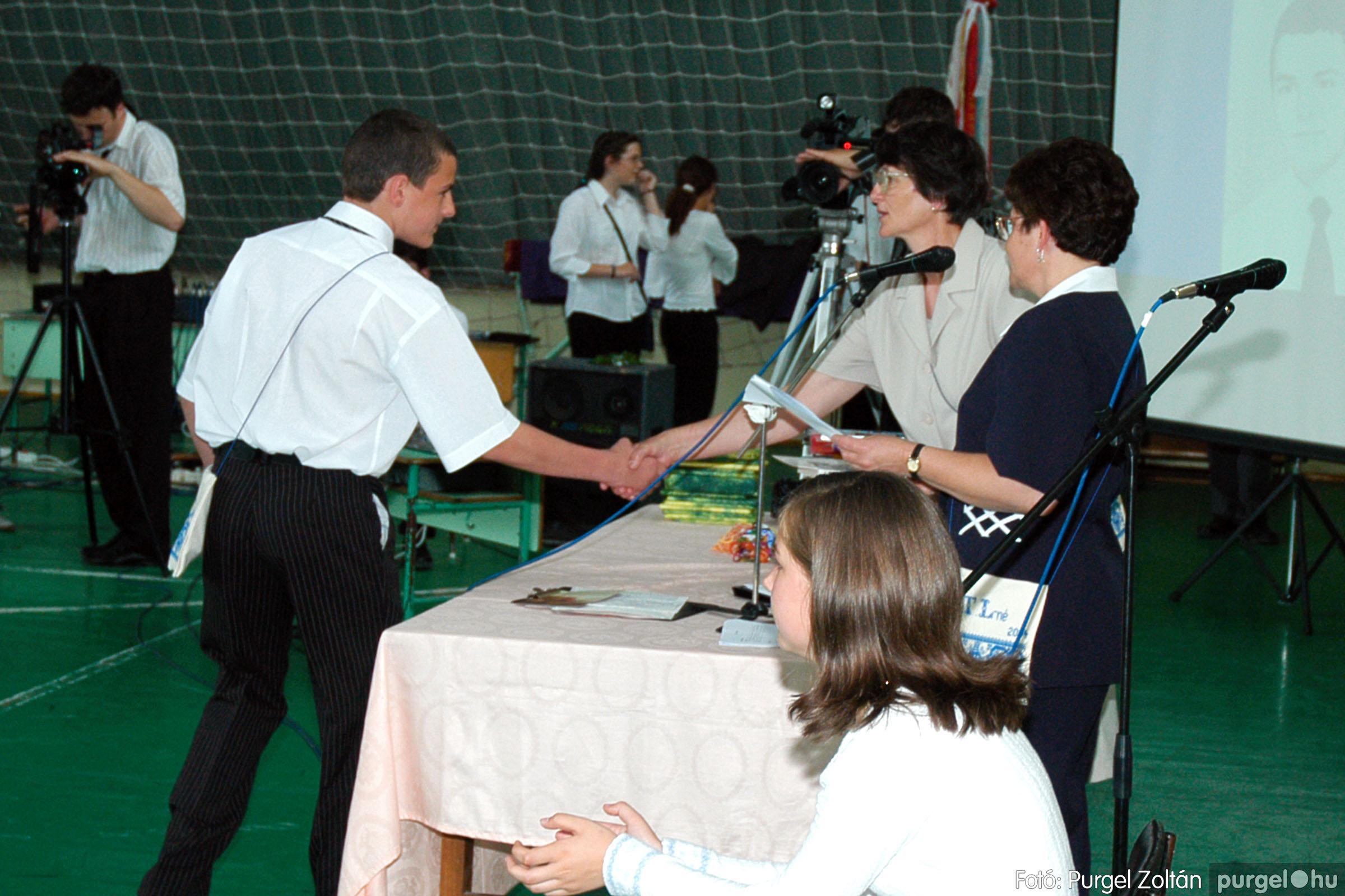 2004.06.12. 069 Forray Máté Általános Iskola ballagás 2004. - Fotó:PURGEL ZOLTÁN© DSC_0137q.jpg