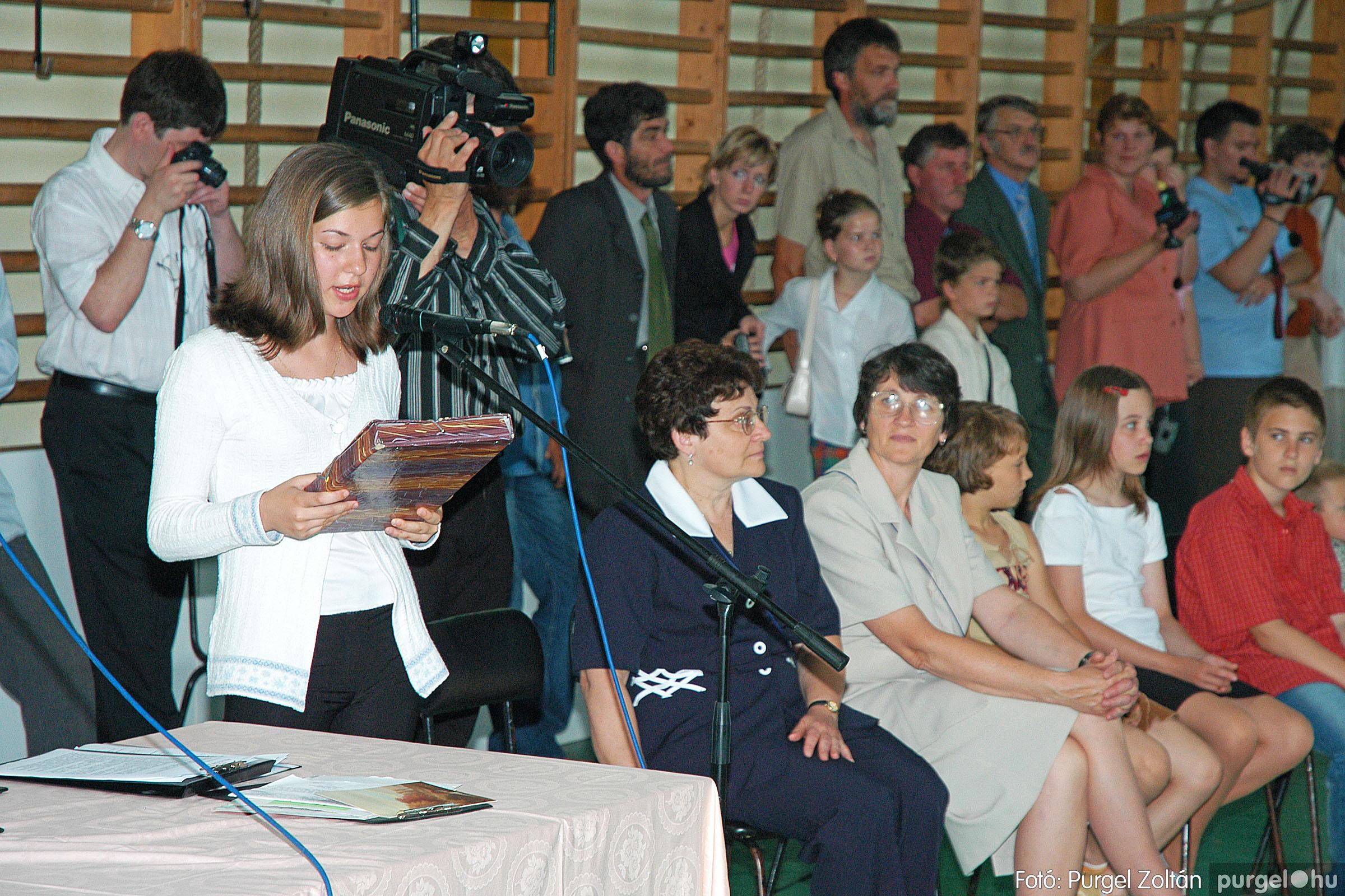 2004.06.12. 052 Forray Máté Általános Iskola ballagás 2004. - Fotó:PURGEL ZOLTÁN© DSC_0113q.jpg