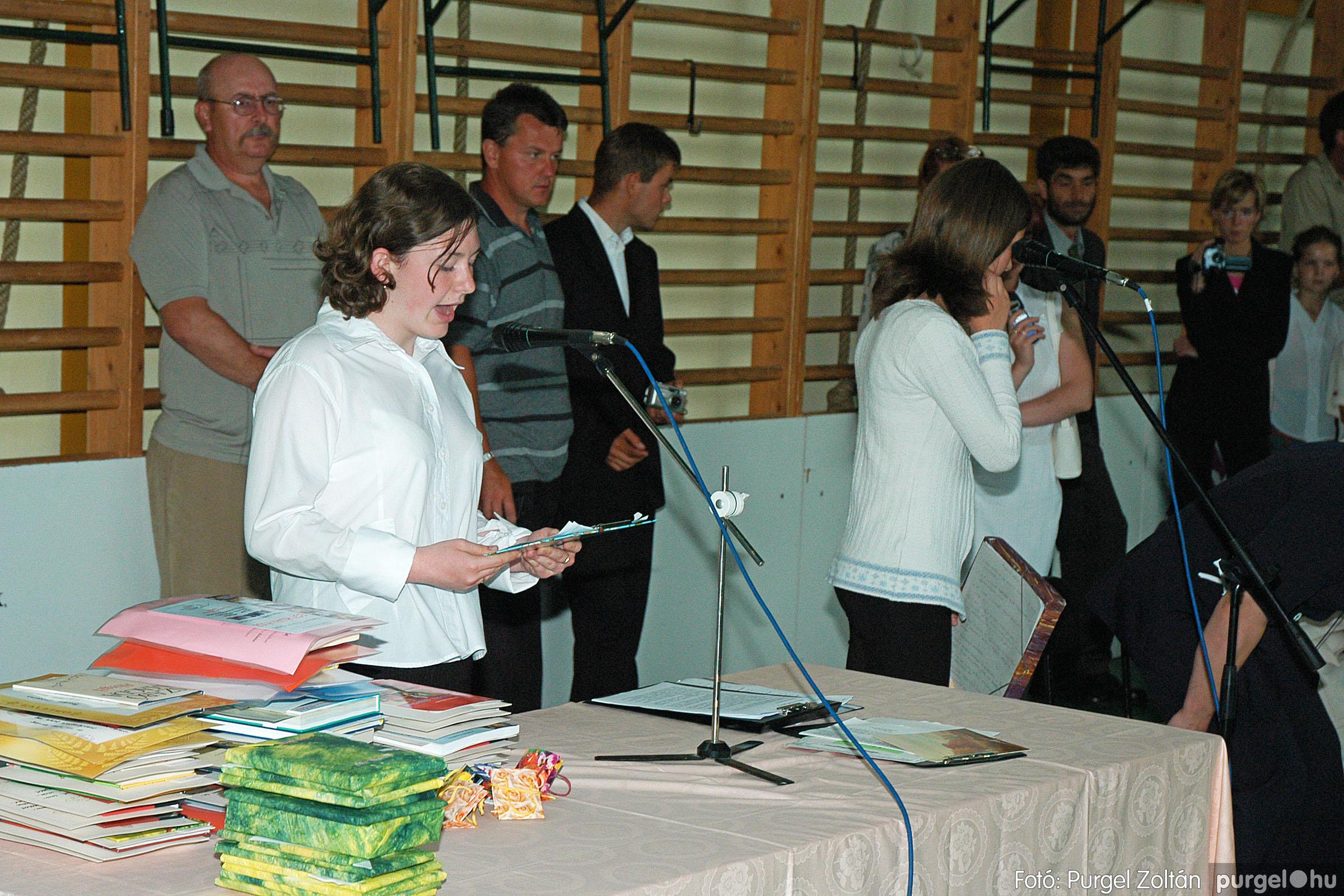 2004.06.12. 045 Forray Máté Általános Iskola ballagás 2004. - Fotó:PURGEL ZOLTÁN© DSC_0105q.jpg