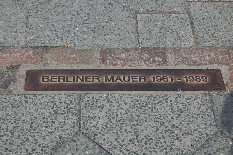 Recorrido muro de Berlín