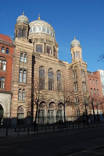 Nueva Sinagoga Berlín