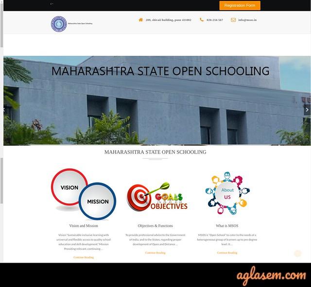 Maharashtra State Open School 10th Result October 2019