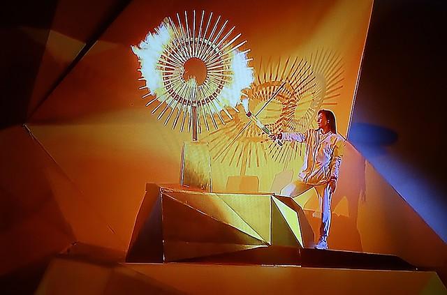 Lima- Perú. 2019. Ceremonia de Inauguración de los Juegos Panamericanos y Parapanamericanos Lima 2019