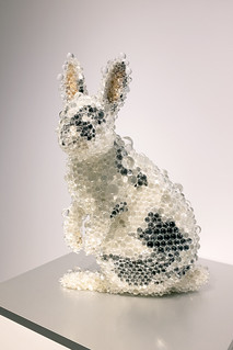 PixCell Rabbit: mixed media sculpture by Kohei Nawa, 2019 (Pace Gallery) | by longzijun