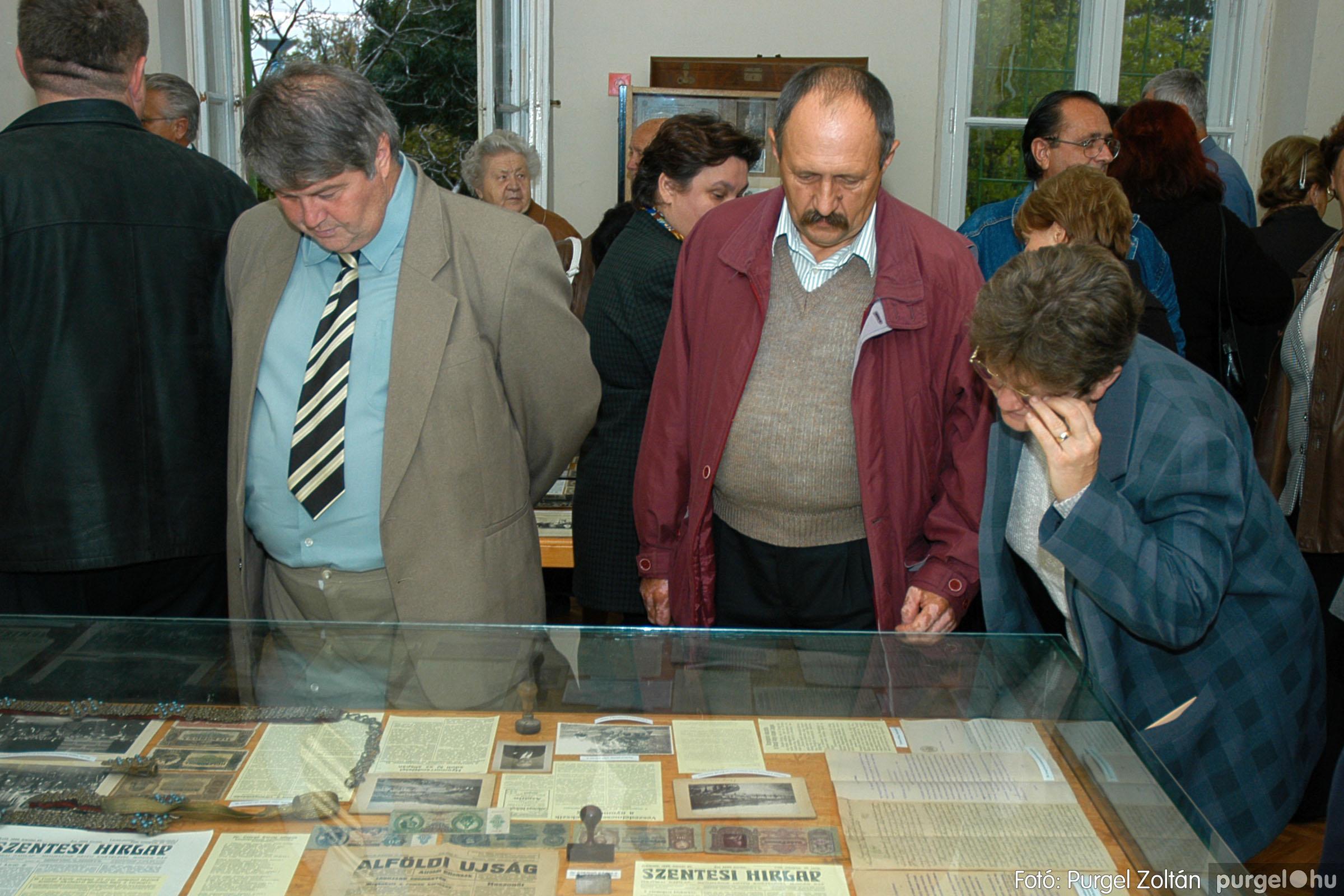 2004.09.25. 018 Dr. Csergő Károly alispán és kora című kiállítás és emléktábla avatás - Fotó:P. Z.©.jpg
