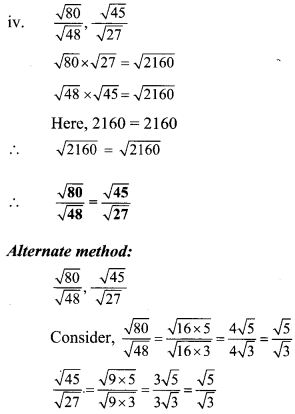 Ratio and Proportion Class 9 Practice Set 4.1