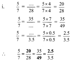 Maharashtra Board Class 9 Maths Solutions Chapter 4 Ratio and Proportion Practice Set 4.2 1a