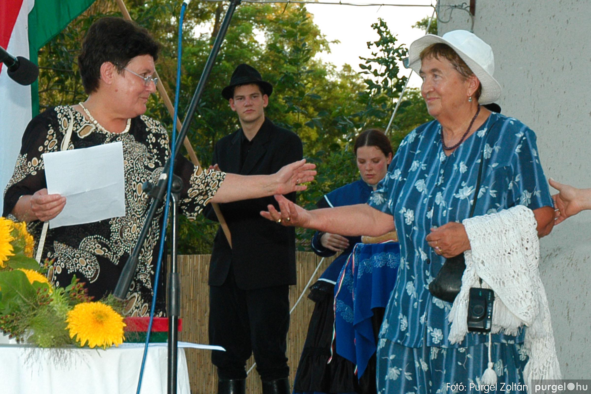 2004.08.20. 128 Szegvári falunapok 2004. 2. nap - Fotó:PURGEL ZOLTÁN© DSC_0157q.jpg