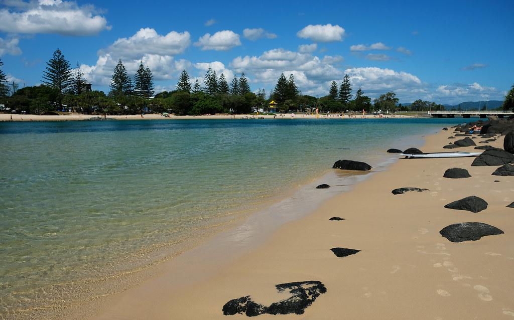 Echo Beach, Burleigh Head NP, Australia