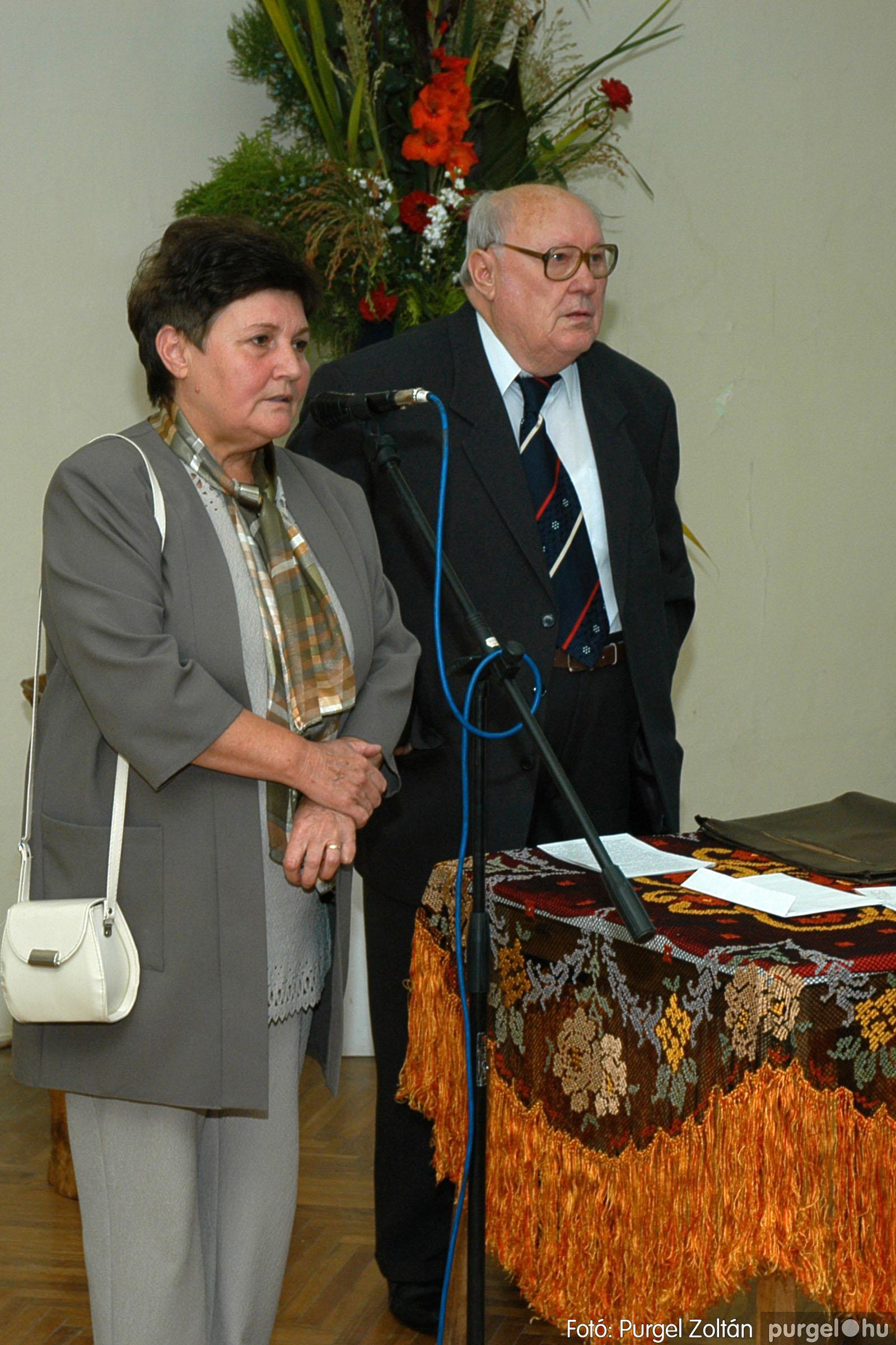 2004.09.25. 012 Dr. Csergő Károly alispán és kora című kiállítás és emléktábla avatás - Fotó:P. Z.©.jpg