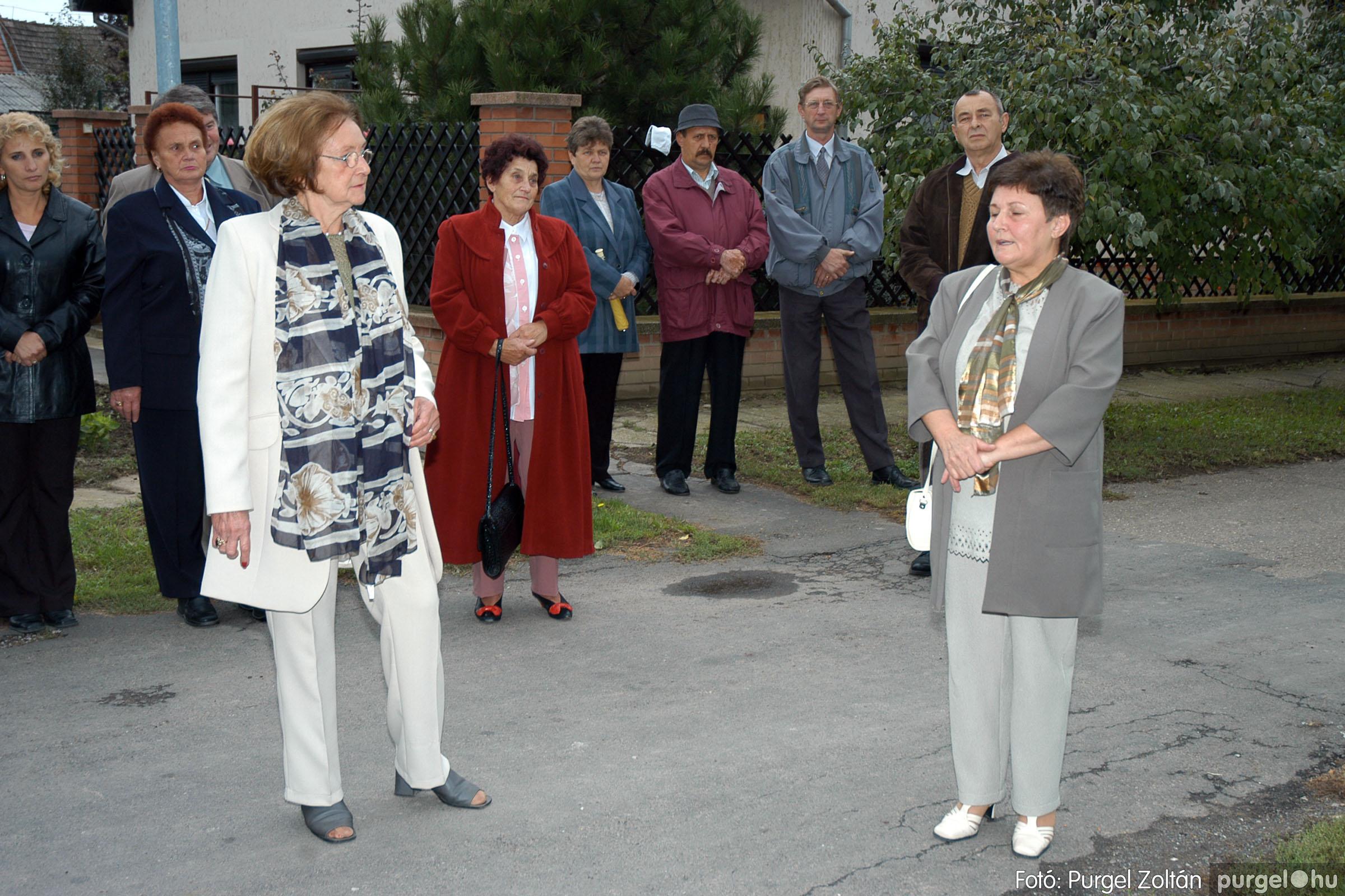 2004.09.25. 011 Dr. Csergő Károly alispán és kora című kiállítás és emléktábla avatás - Fotó:P. Z.©.jpg