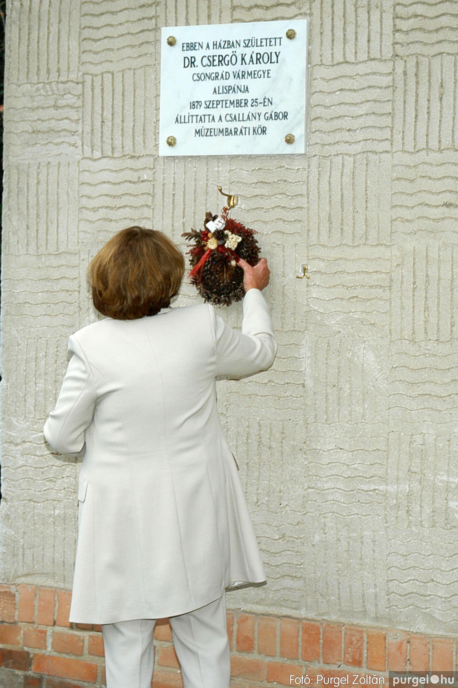 2004.09.25. 007 Dr. Csergő Károly alispán és kora című kiállítás és emléktábla avatás - Fotó:P. Z.©.jpg