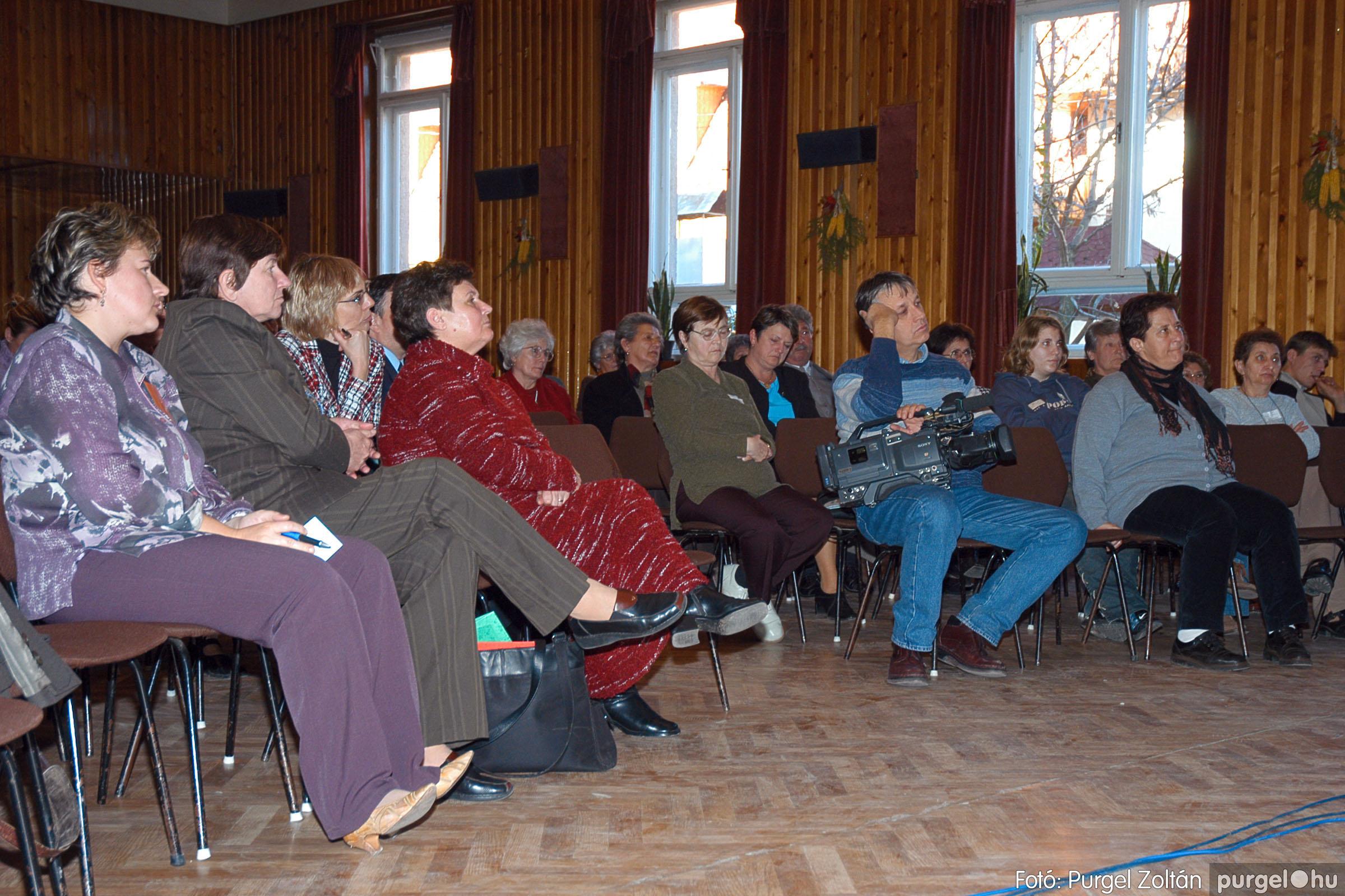 2004.11.20. 019 Kistérségi civil fórum - Fotó:PURGEL ZOLTÁN© DSC_0024q.jpg