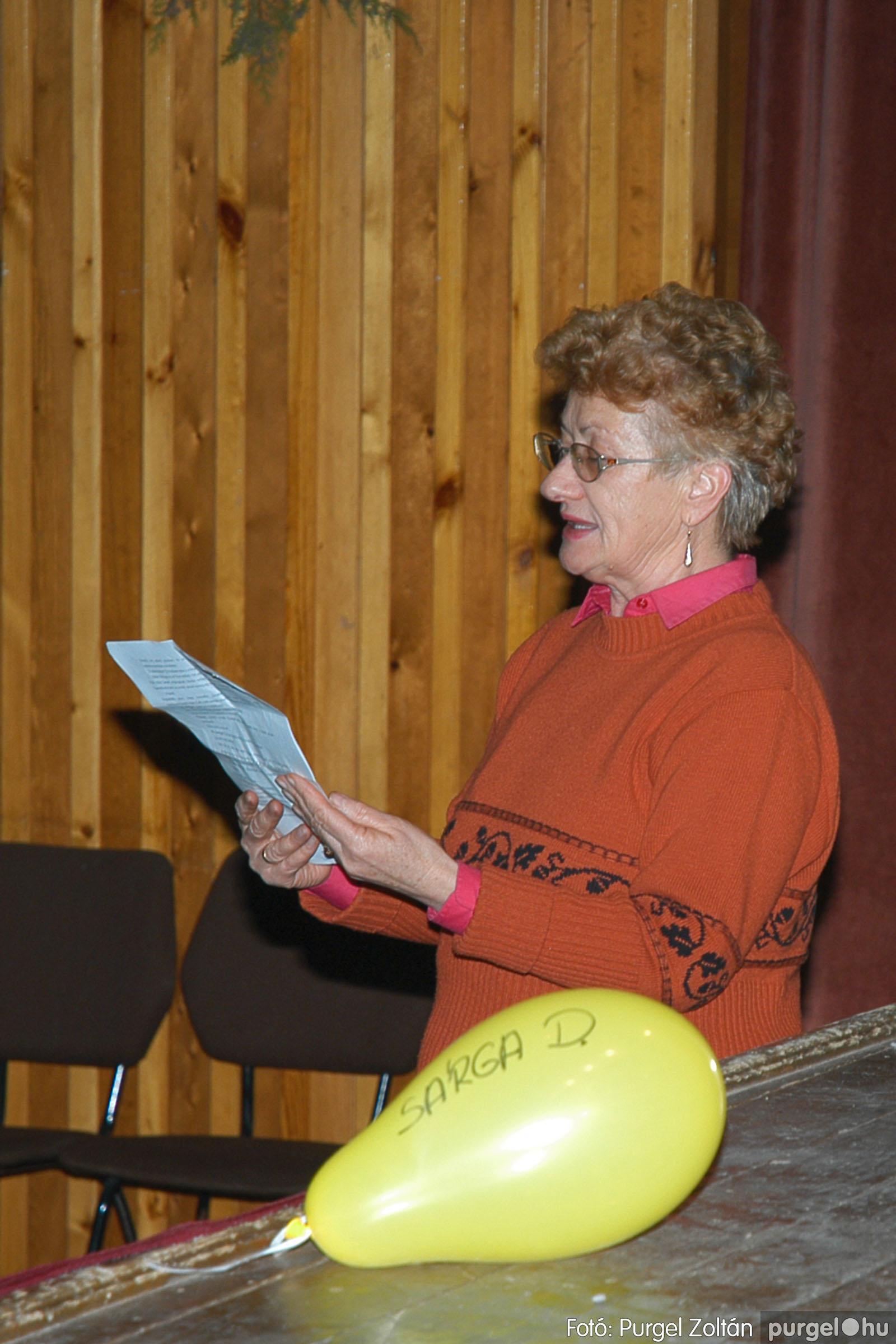 2004.12.15. 017 Szegváriak Szegvárért Közösségfejlesztők Egyesület évzárója - Fotó:PURGEL ZOLTÁN© DSC_0020q.jpg