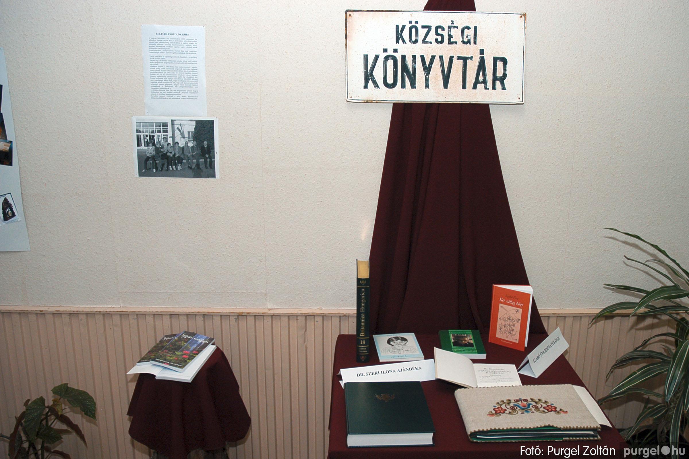 2004.11.09. 006 40 éves a szegvári Művelődési Ház - Fotó:PURGEL ZOLTÁN© DSC_0006q.jpg