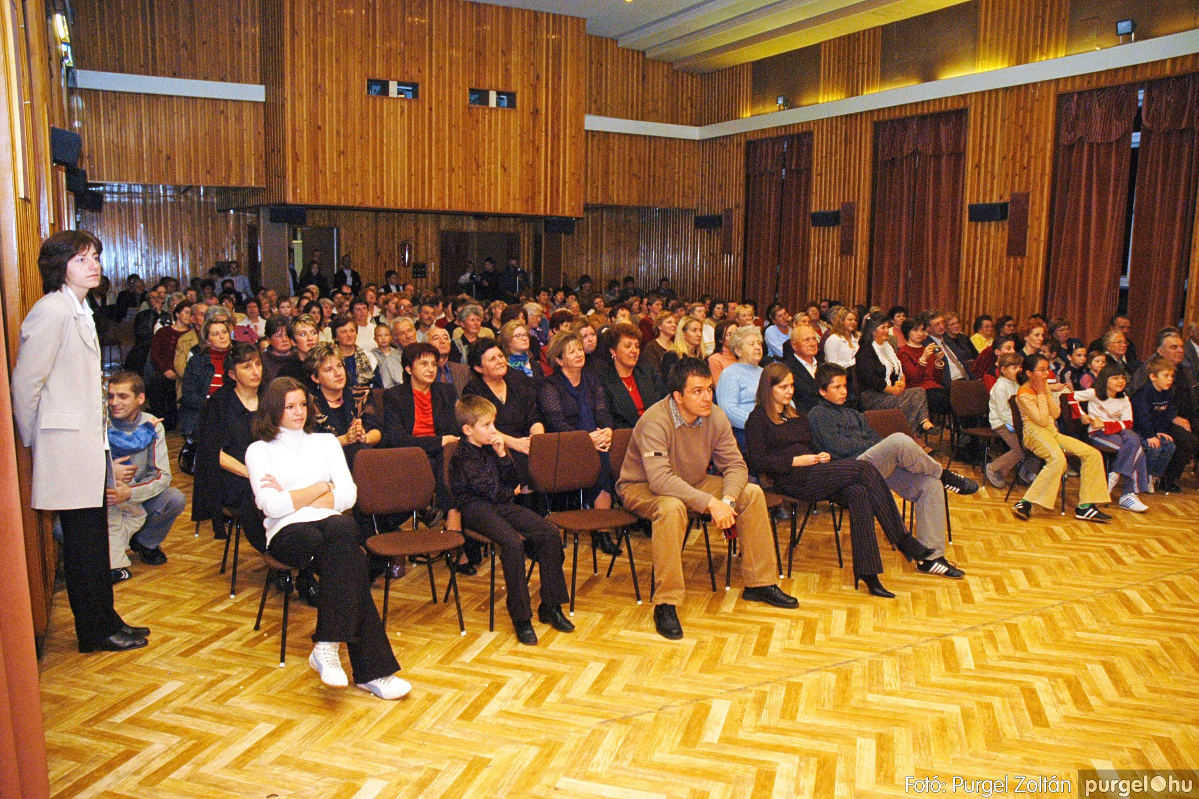 2004.11.06. 094 40 éves a szegvári Művelődési Ház - Fotó:PURGEL ZOLTÁN© DSC_0106q.jpg