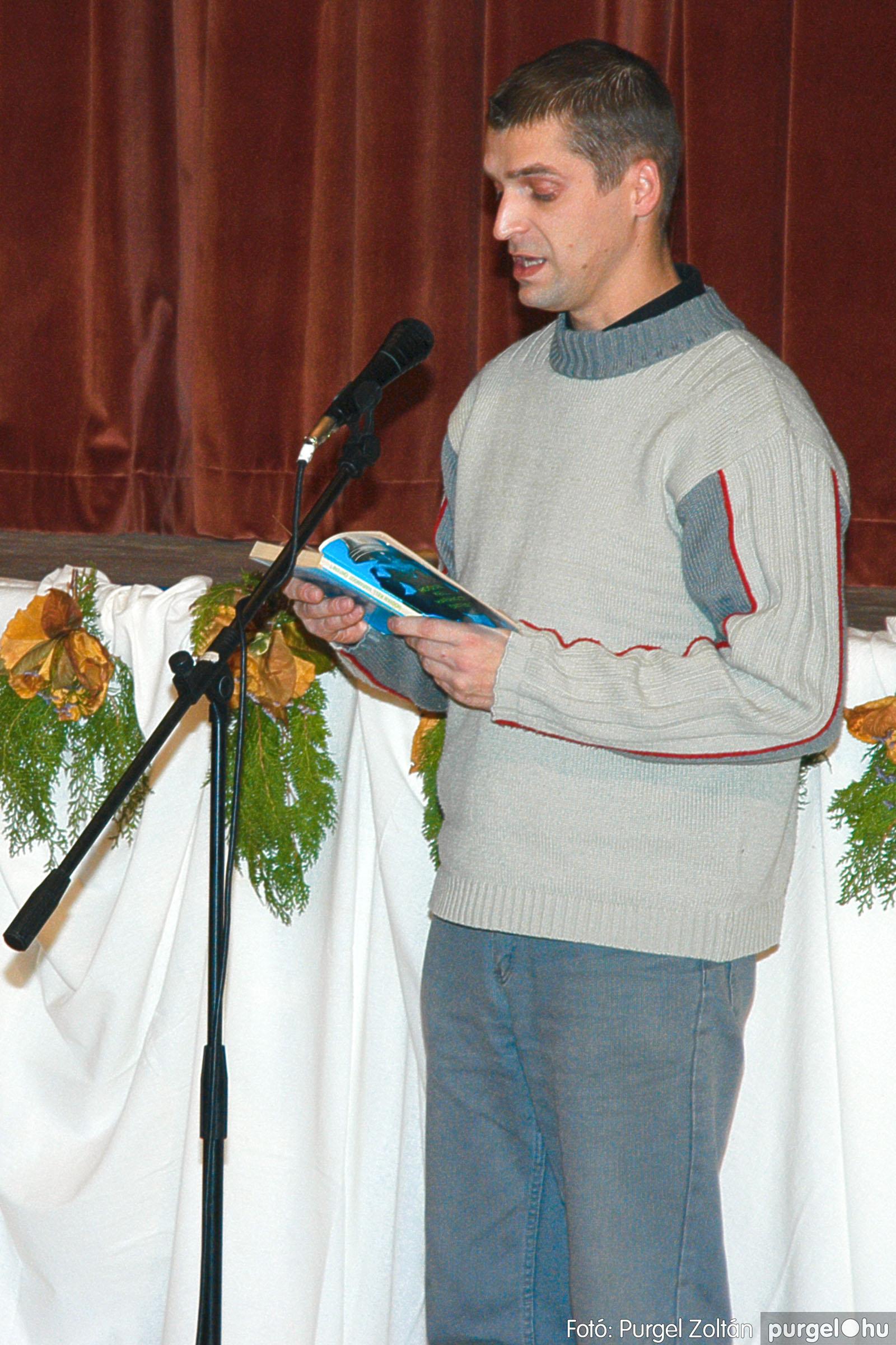 2004.11.06. 060 40 éves a szegvári Művelődési Ház - Fotó:PURGEL ZOLTÁN© DSC_0071q.jpg