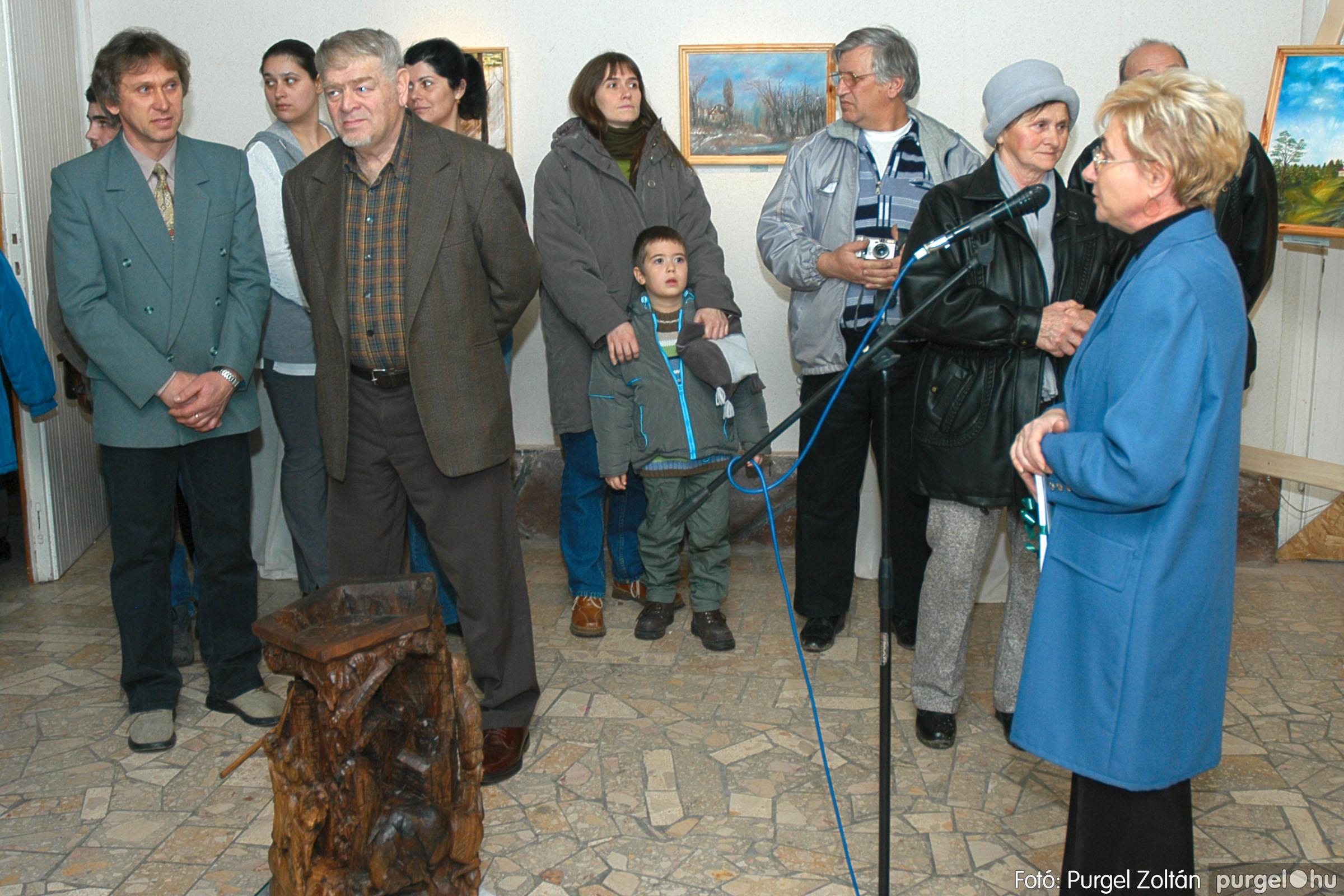 2005.01.22. 007 Tóth József fafaragó kiállítása - Fotó:PURGEL ZOLTÁN© DSC_0007q.jpg