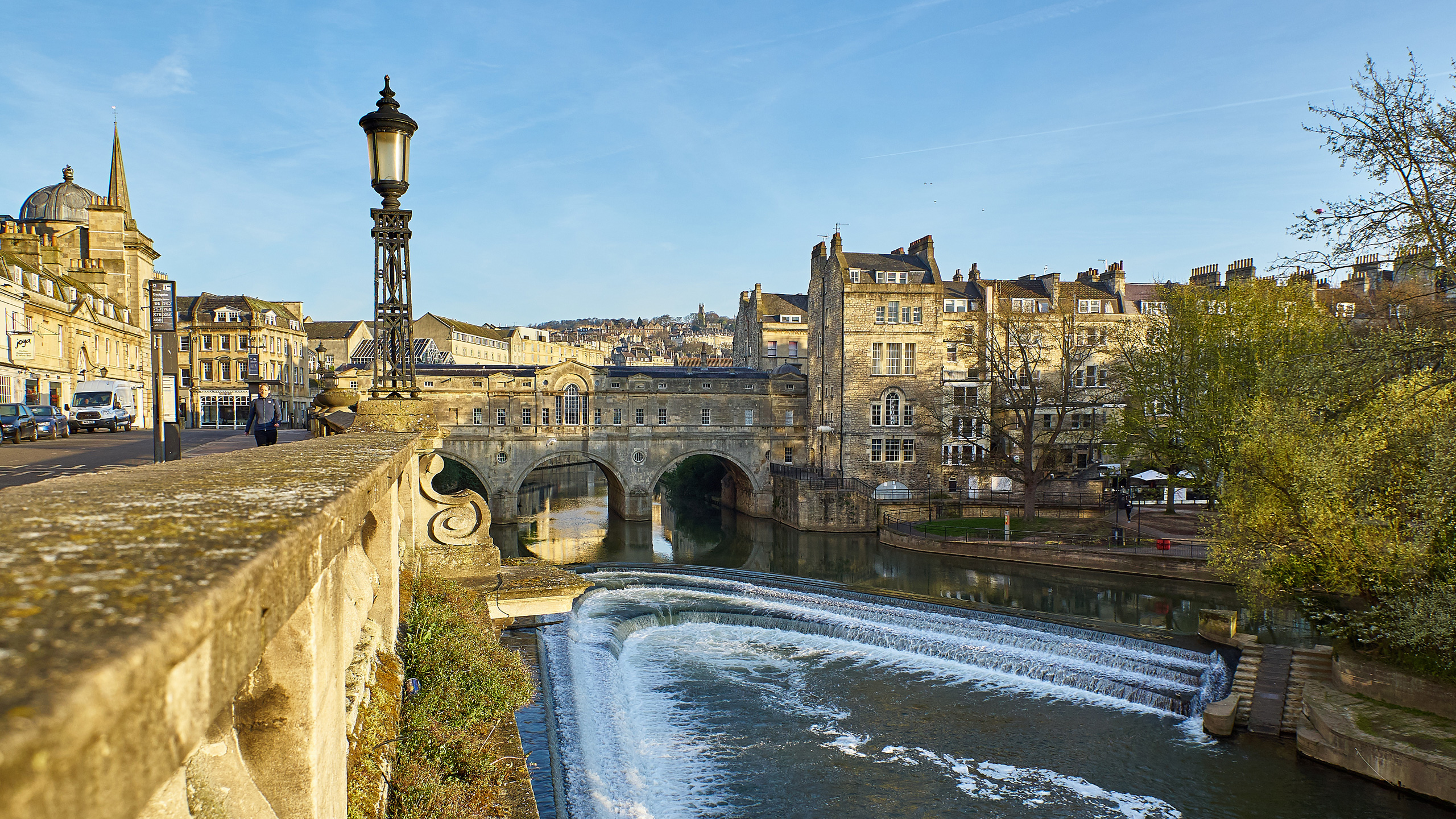 A picture of Pulteney Bridge in Bath