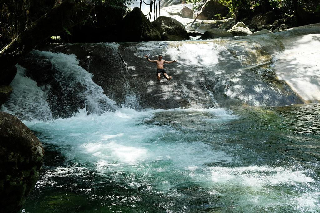Josephine Falls swimming hole, Queensland, Australia