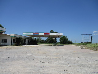 Fina Gas Station Caddo,OK