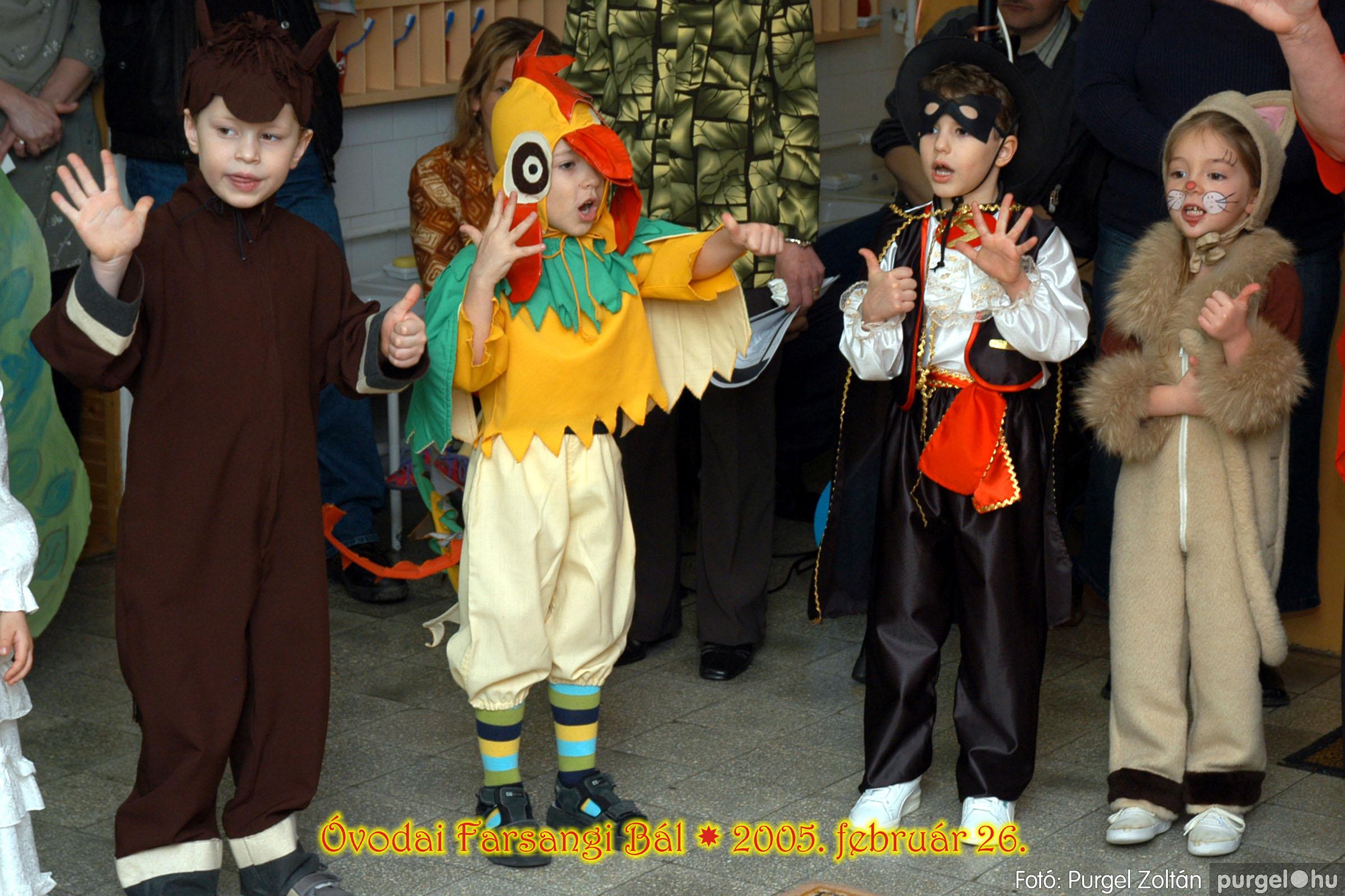 2005.02.26. 051 Kurca-parti Óvoda farsang 2005. Eszterlánc csoport - Fotó:PURGEL ZOLTÁN© 00.jpg