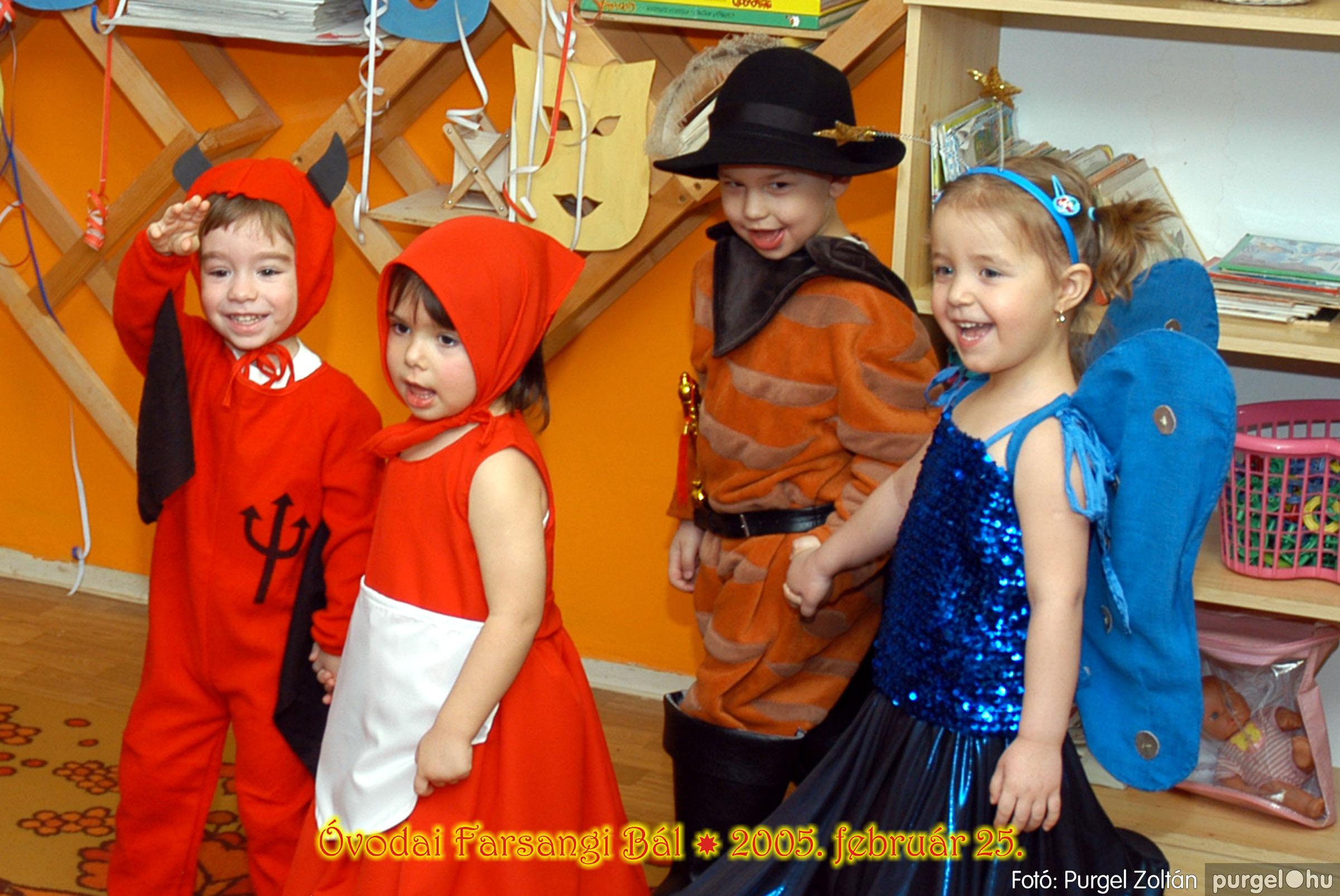 2005.02.25. 023 Kurca-parti Óvoda farsang 2005. Nyitnikék csoport - Fotó:PURGEL ZOLTÁN© 098.jpg