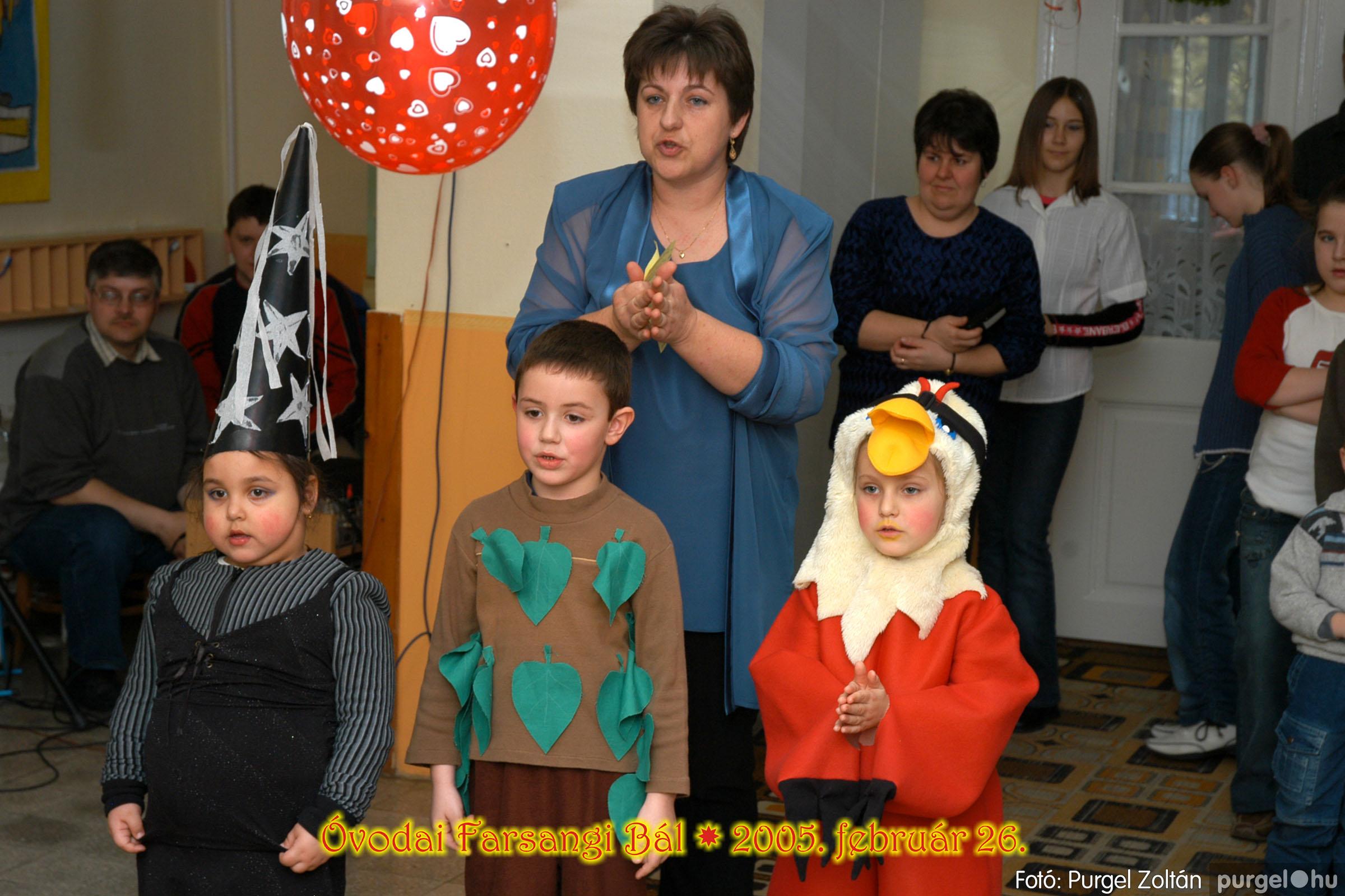 2005.02.26. 132 Kurca-parti Óvoda farsang 2005. Szivárvány csoport - Fotó:PURGEL ZOLTÁN© 13.jpg