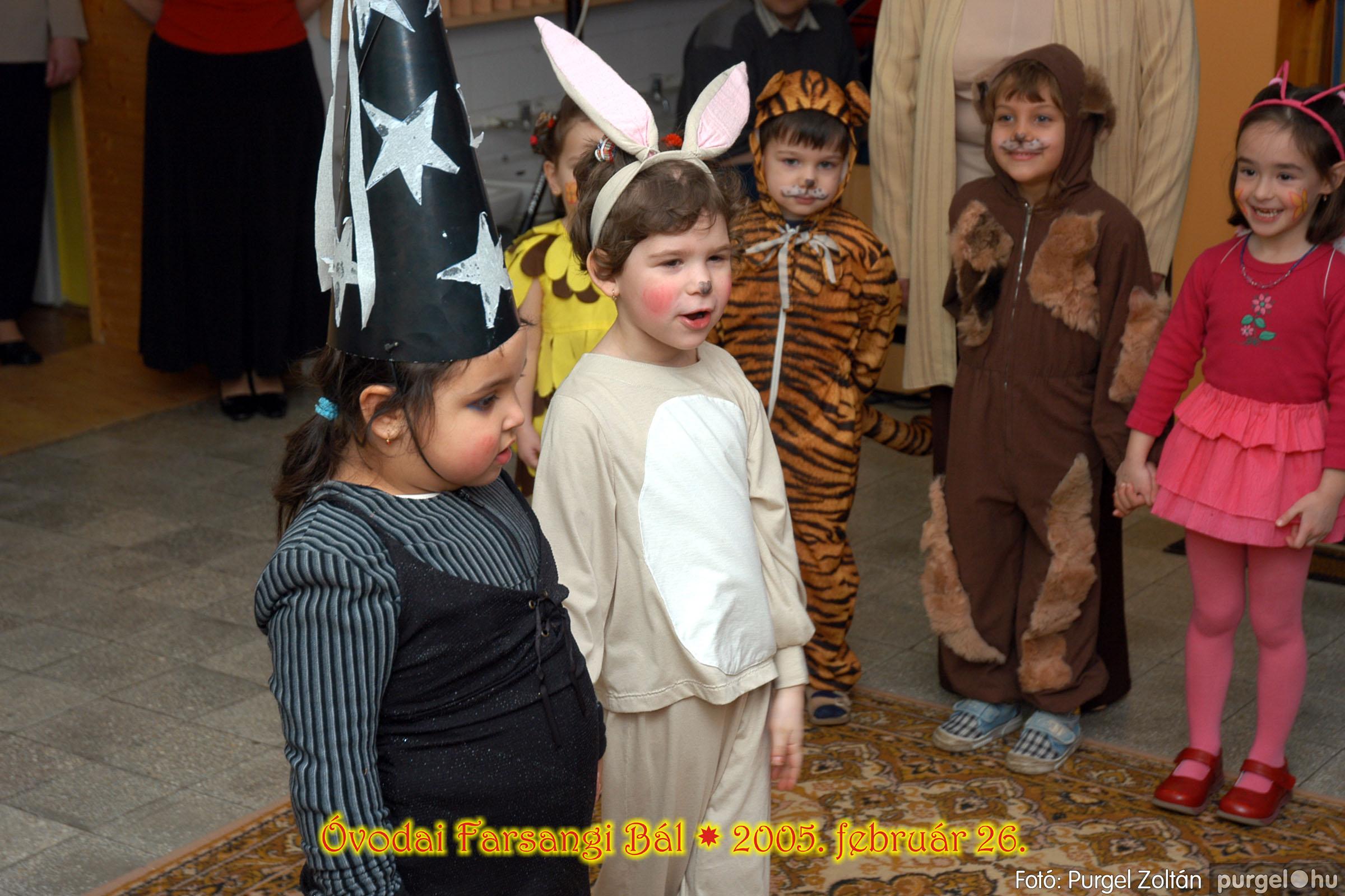 2005.02.26. 127 Kurca-parti Óvoda farsang 2005. Szivárvány csoport - Fotó:PURGEL ZOLTÁN© 12.jpg