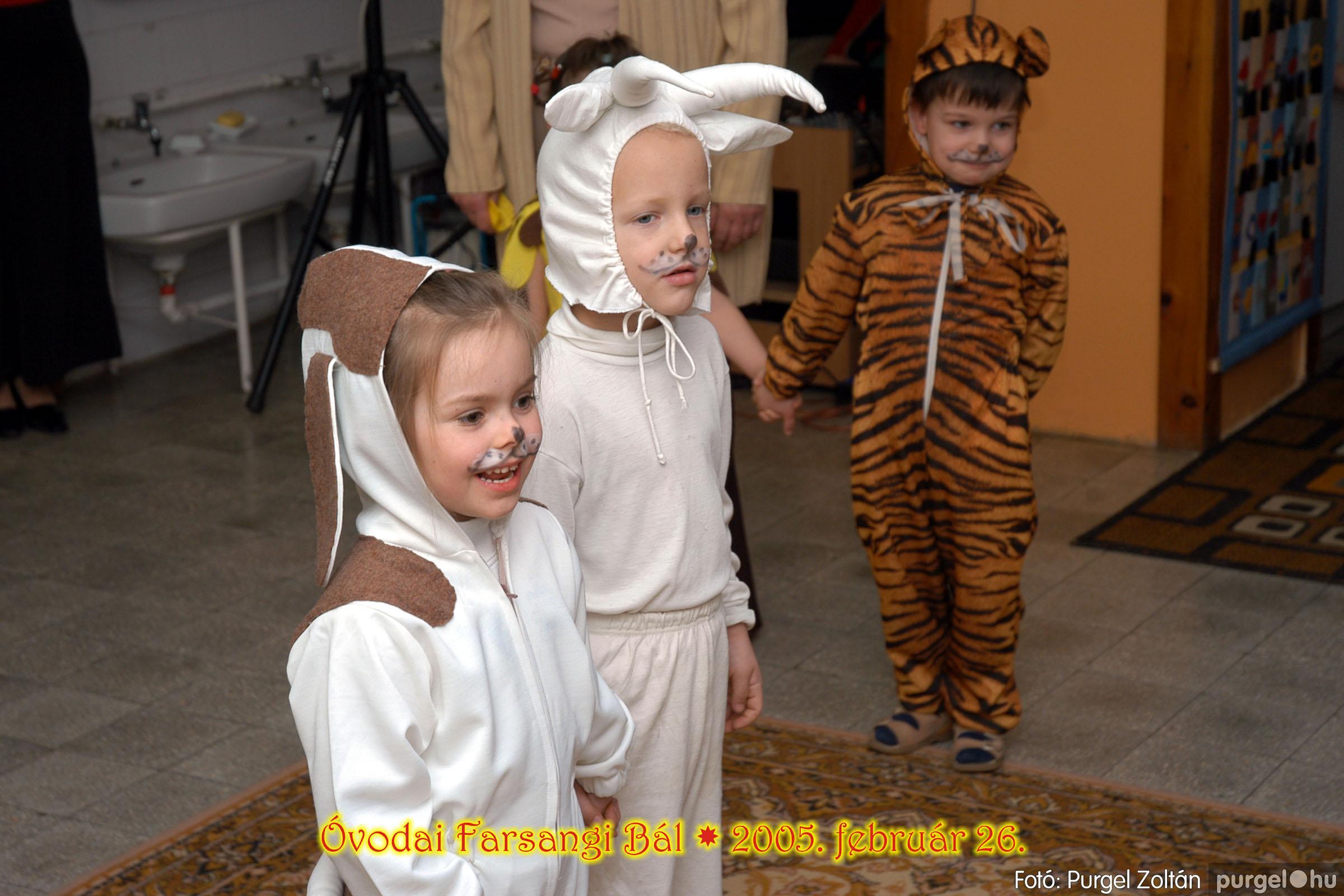 2005.02.26. 124 Kurca-parti Óvoda farsang 2005. Szivárvány csoport - Fotó:PURGEL ZOLTÁN© 12.jpg