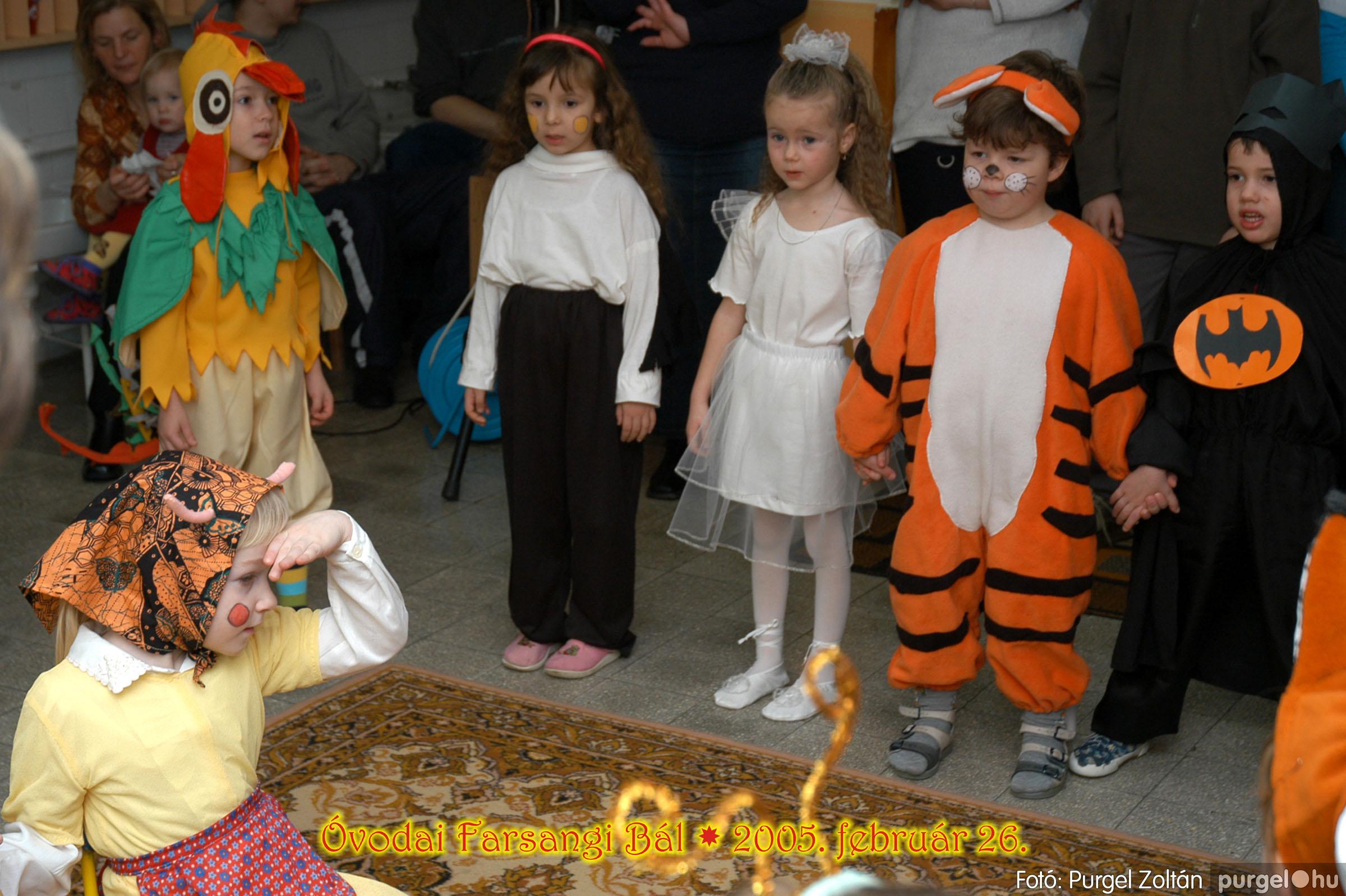 2005.02.26. 056 Kurca-parti Óvoda farsang 2005. Eszterlánc csoport - Fotó:PURGEL ZOLTÁN© 00.jpg