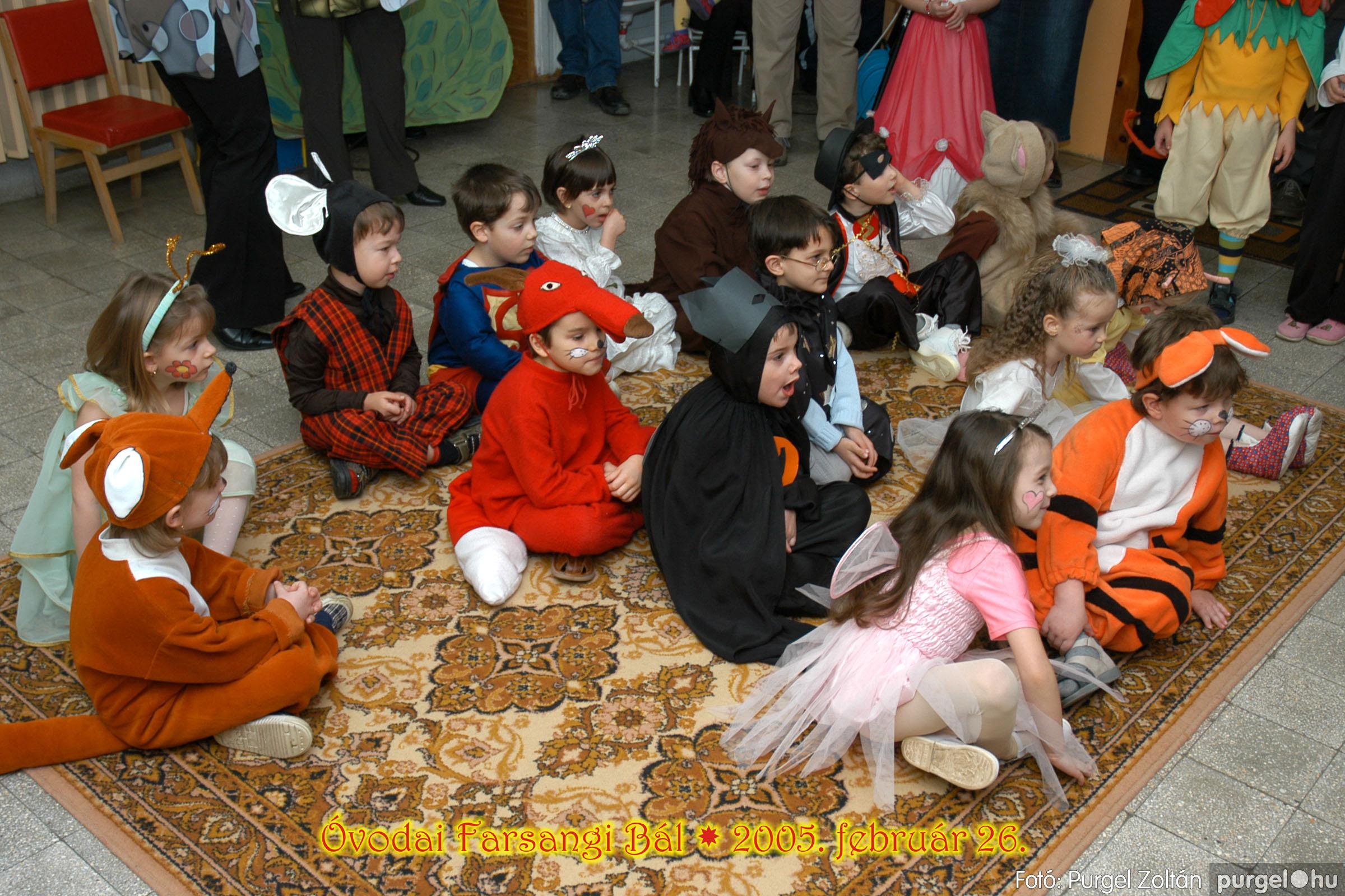 2005.02.26. 052 Kurca-parti Óvoda farsang 2005. Eszterlánc csoport - Fotó:PURGEL ZOLTÁN© 00.jpg