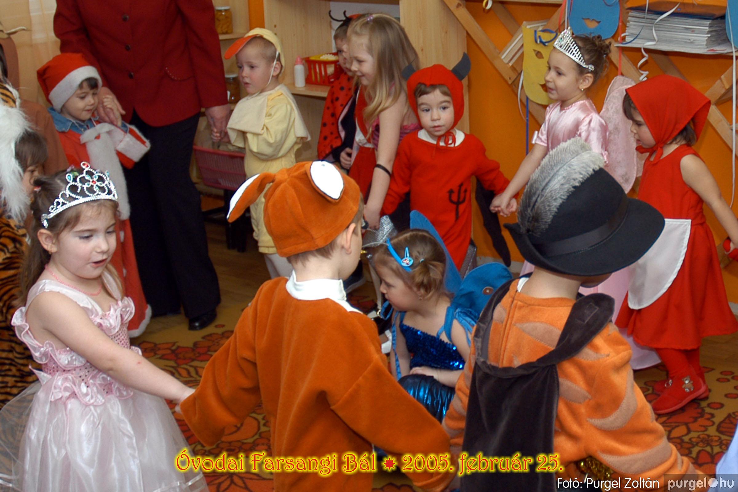 2005.02.25. 046 Kurca-parti Óvoda farsang 2005. Nyitnikék csoport - Fotó:PURGEL ZOLTÁN© 121.jpg