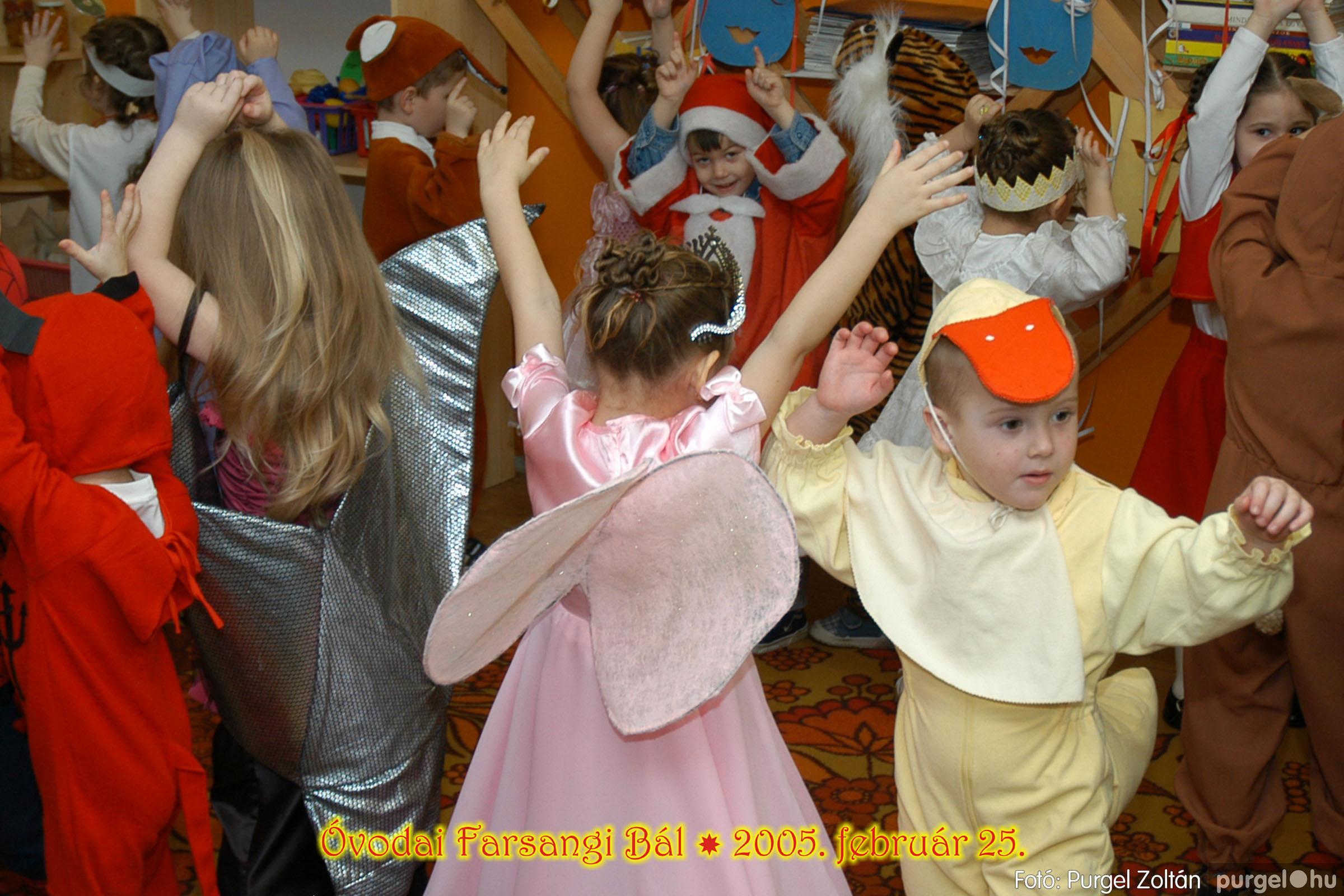 2005.02.25. 027 Kurca-parti Óvoda farsang 2005. Nyitnikék csoport - Fotó:PURGEL ZOLTÁN© 102.jpg