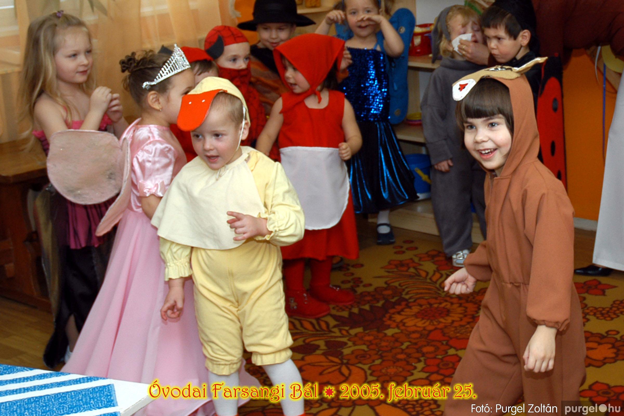2005.02.25. 026 Kurca-parti Óvoda farsang 2005. Nyitnikék csoport - Fotó:PURGEL ZOLTÁN© 101.jpg