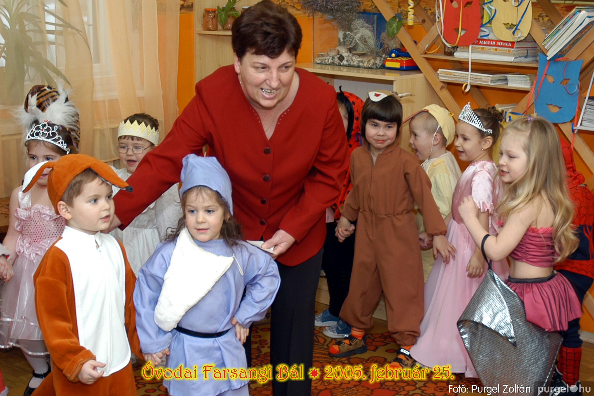 2005.02.25. 024 Kurca-parti Óvoda farsang 2005. Nyitnikék csoport - Fotó:PURGEL ZOLTÁN© 099.jpg