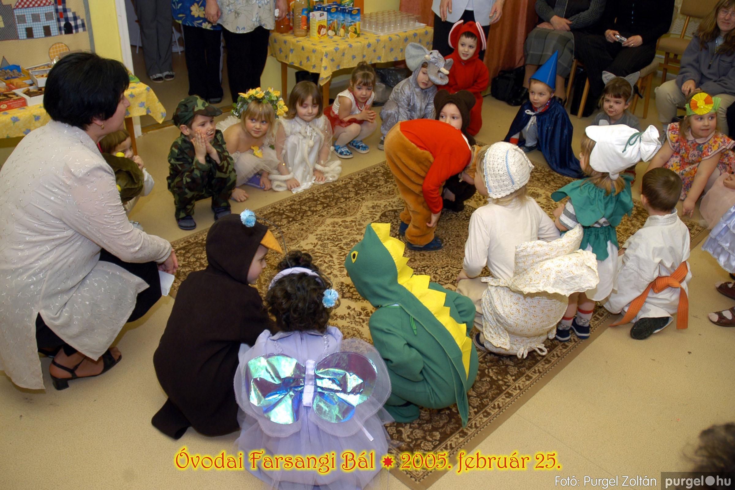 2005.02.25. 008 Kurca-parti Óvoda farsang 2005. Napsugár csoport - Fotó:PURGEL ZOLTÁN© 083.jpg