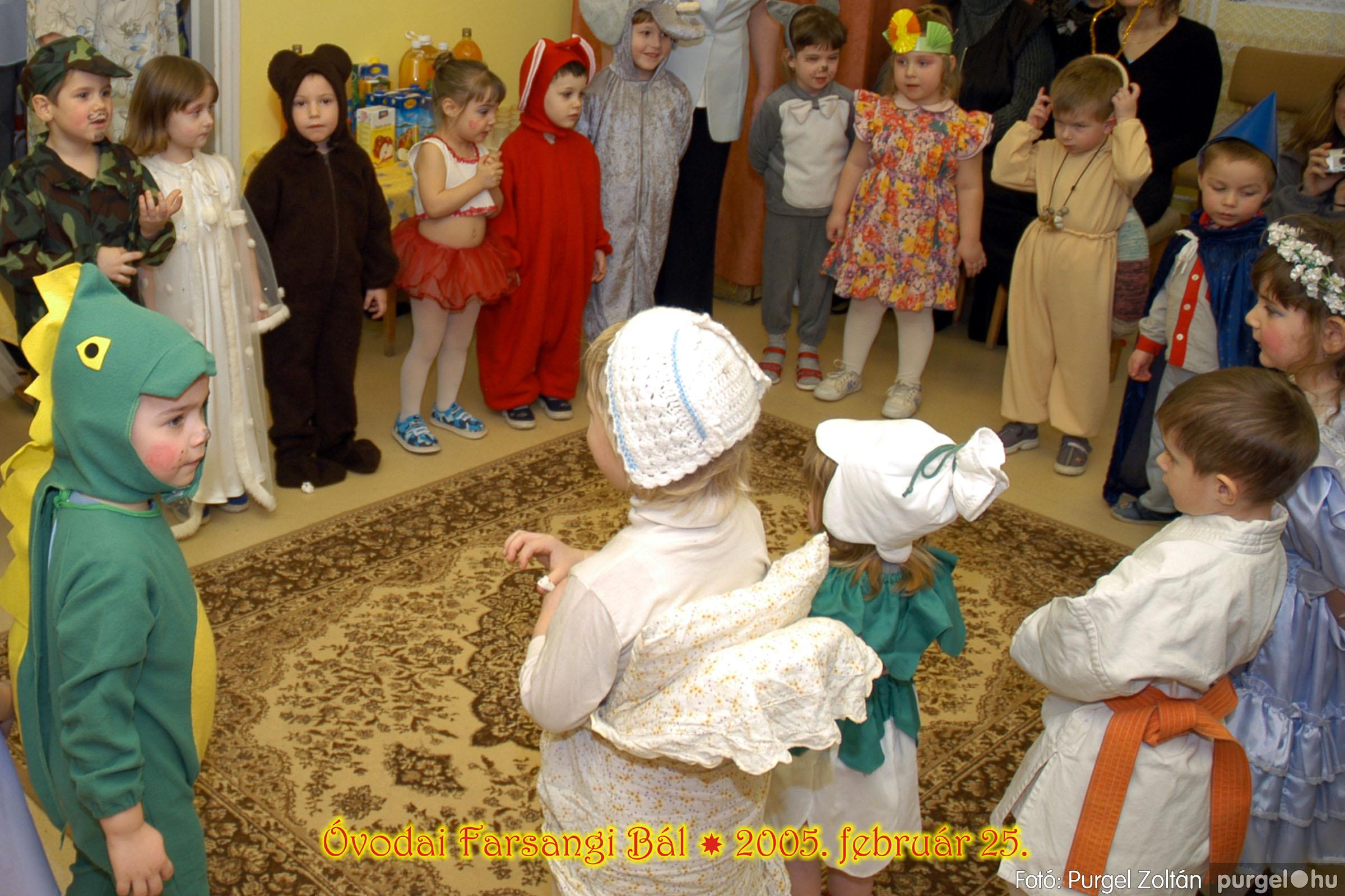 2005.02.25. 003 Kurca-parti Óvoda farsang 2005. Napsugár csoport - Fotó:PURGEL ZOLTÁN© 078.jpg