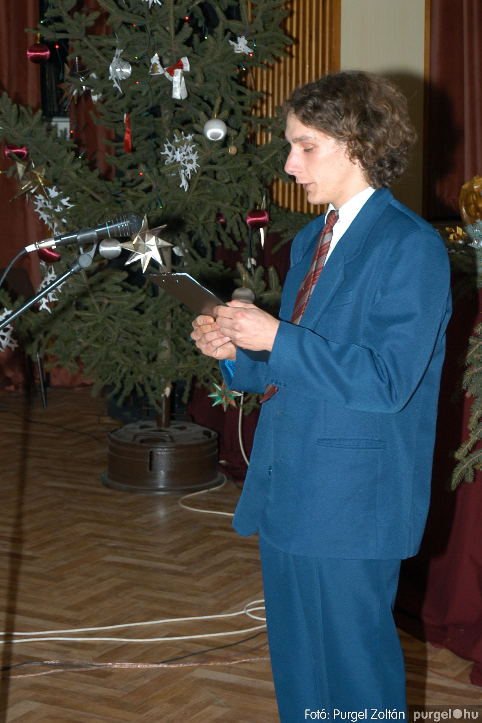 2004.12.23. 005 Én ezt tudom! irodalmi gálaest - Fotó:PURGEL ZOLTÁN© DSC_0005q.jpg