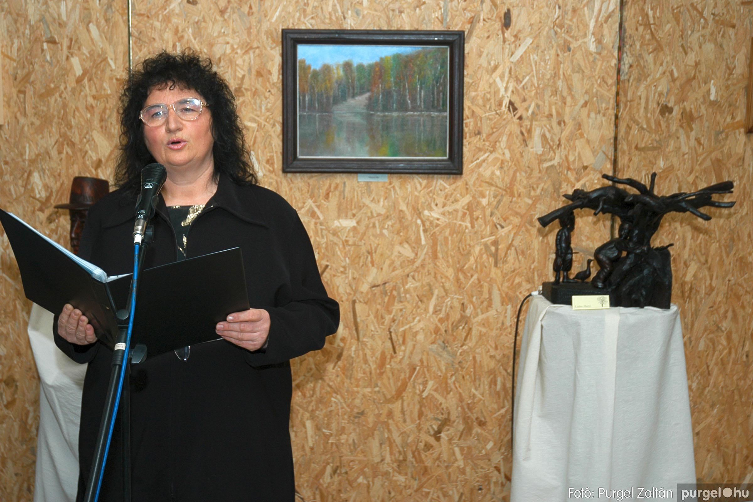 2005.01.22. 013 Tóth József fafaragó kiállítása - Fotó:PURGEL ZOLTÁN© DSC_0013q.jpg